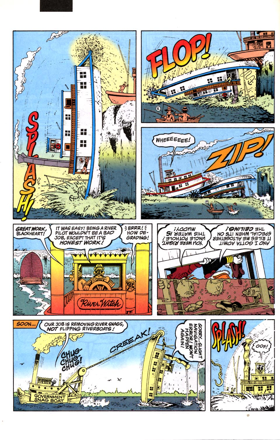 Read online Uncle Scrooge (1953) comic -  Issue #286 - 9