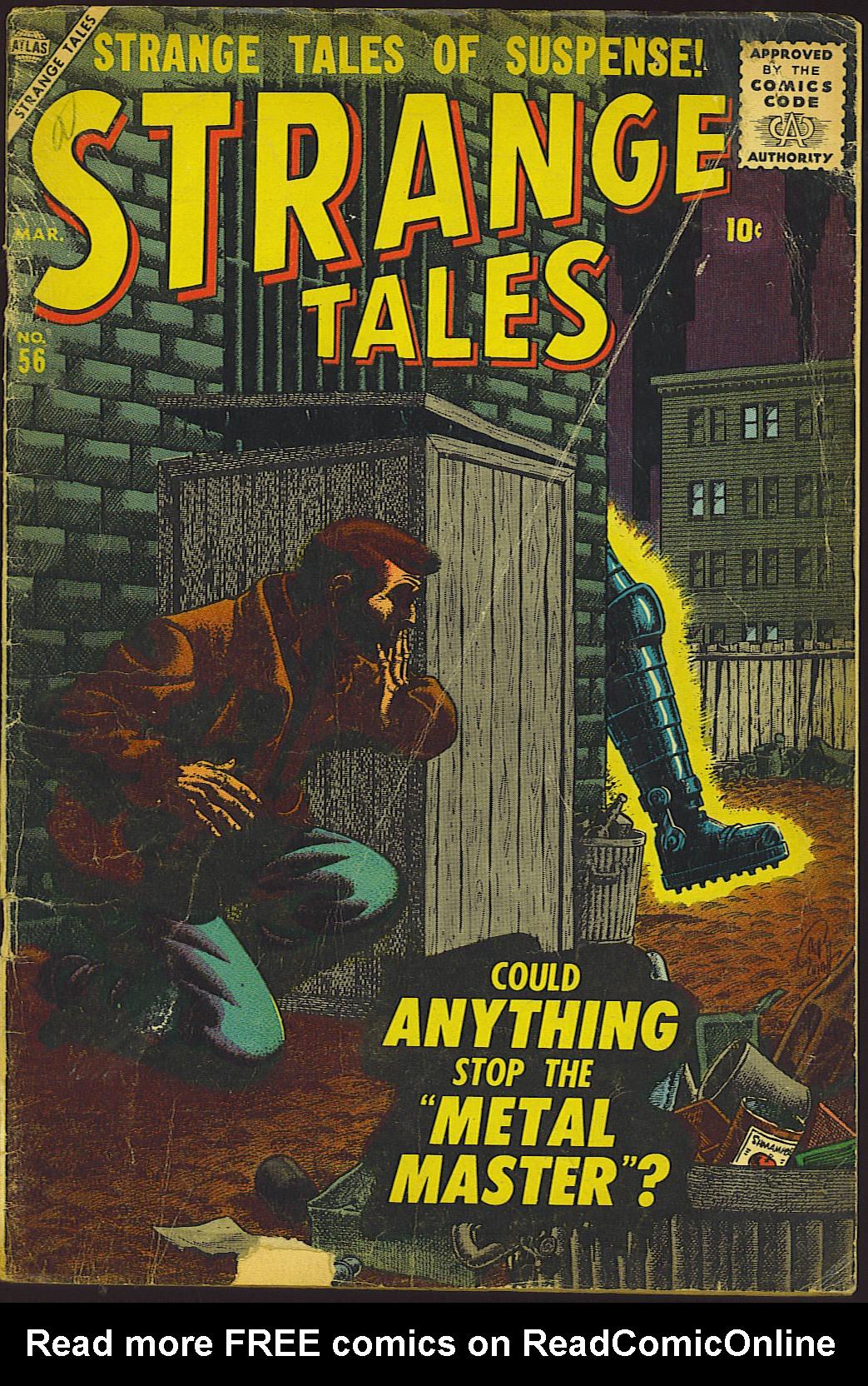 Strange Tales (1951) 56 Page 1