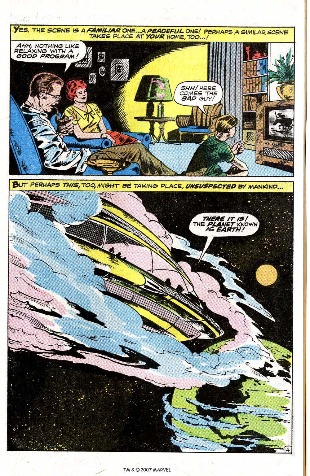 Read online Silver Surfer (1968) comic -  Issue #6 - 54