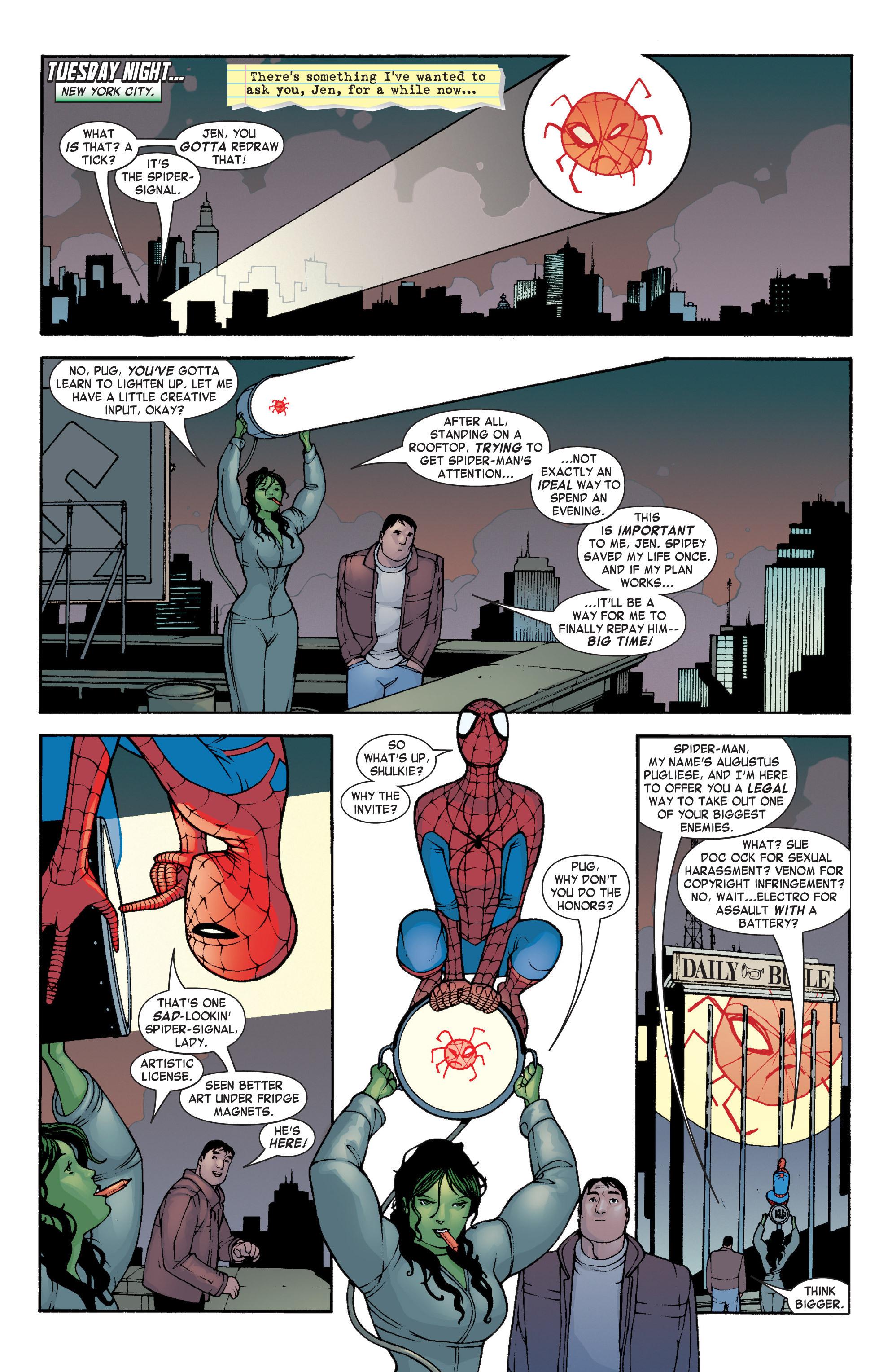 Read online She-Hulk (2004) comic -  Issue #4 - 2