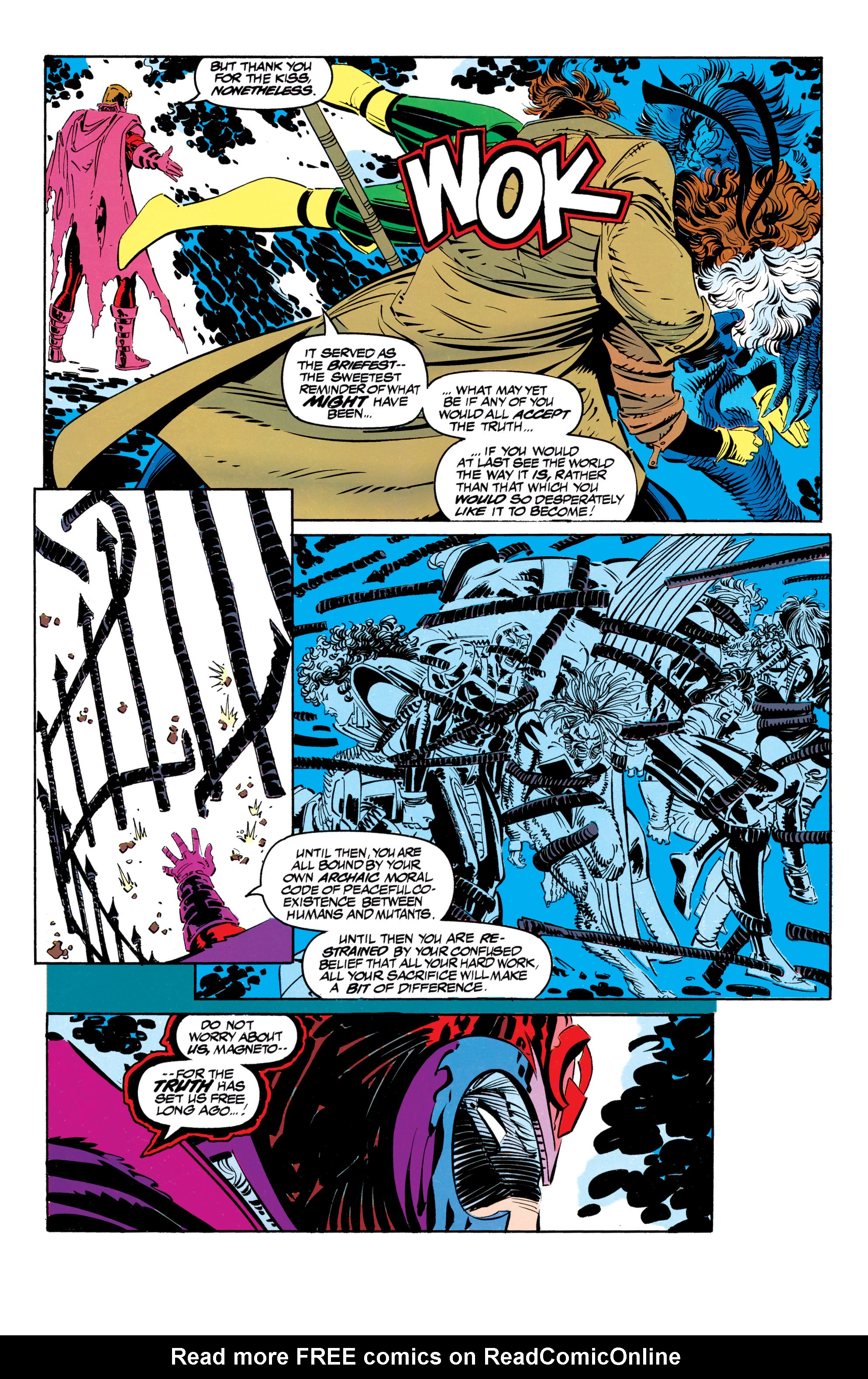 Read online Uncanny X-Men (1963) comic -  Issue #304 - 37