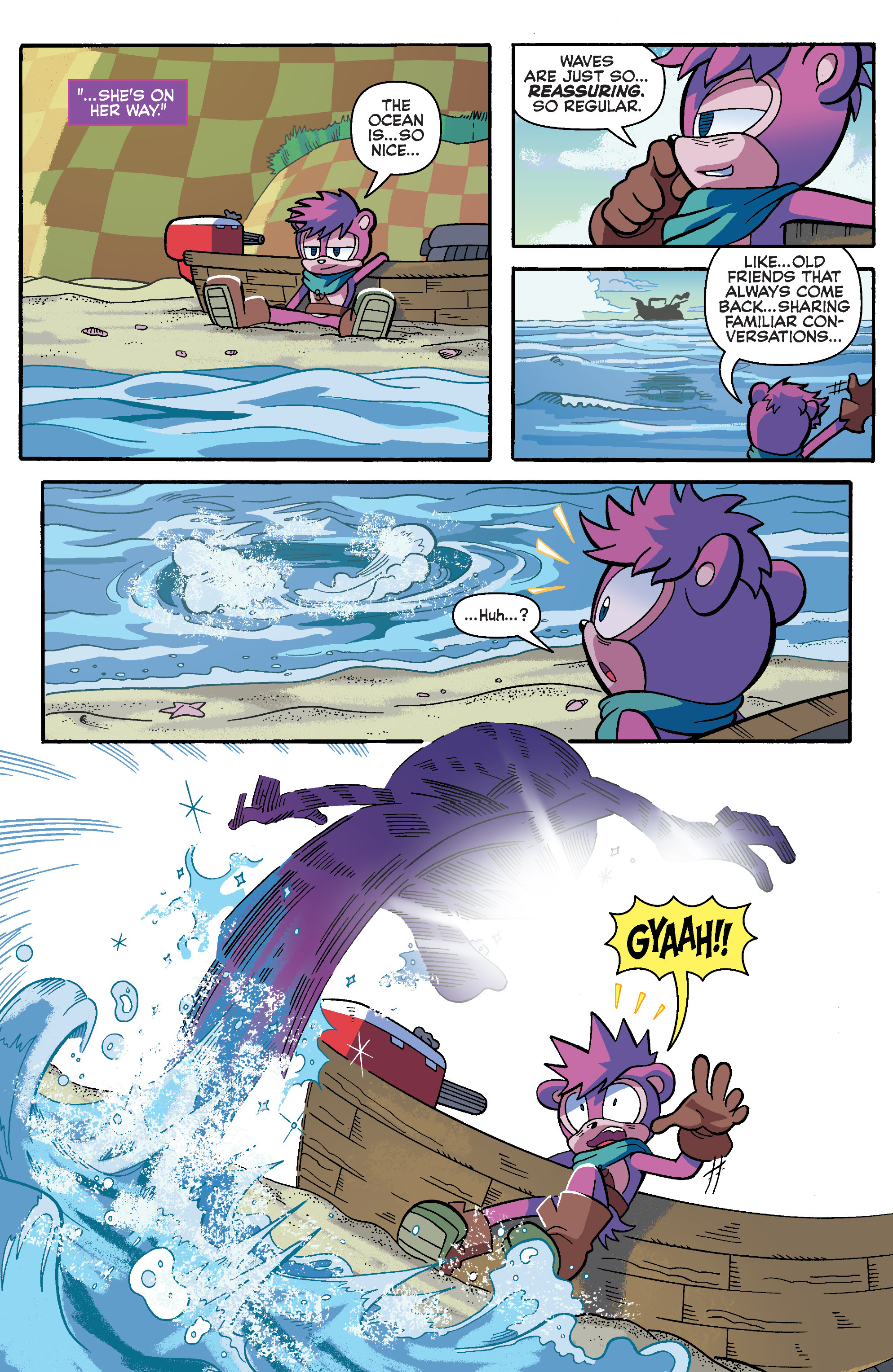 Read online Sonic Universe comic -  Issue #93 - 20