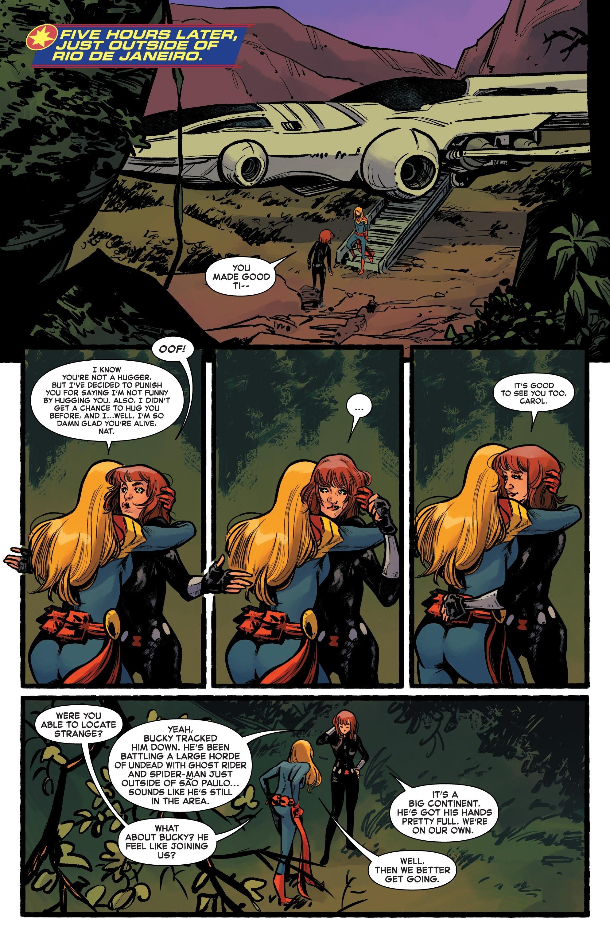 Read online Captain Marvel (2019) comic -  Issue #6 - 9