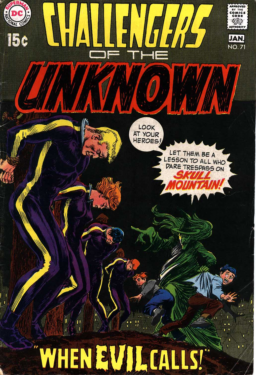 Challengers of the Unknown (1958) issue 71 - Page 1