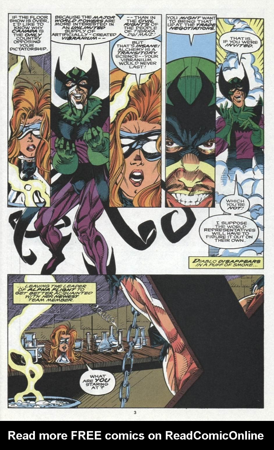 Read online Alpha Flight (1983) comic -  Issue #103 - 4