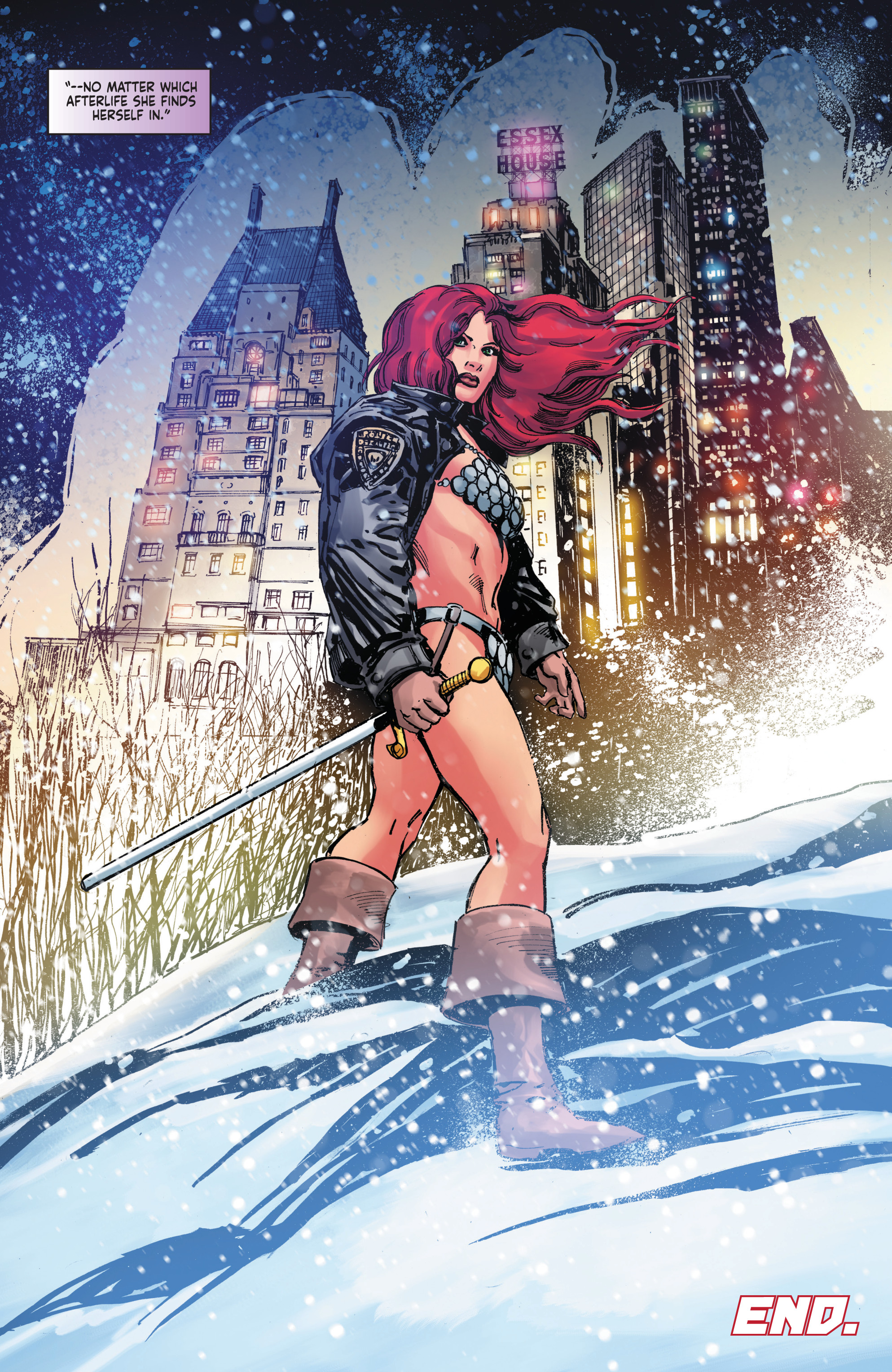Read online Red Sonja: The Long Walk To Oblivion comic -  Issue # Full - 33