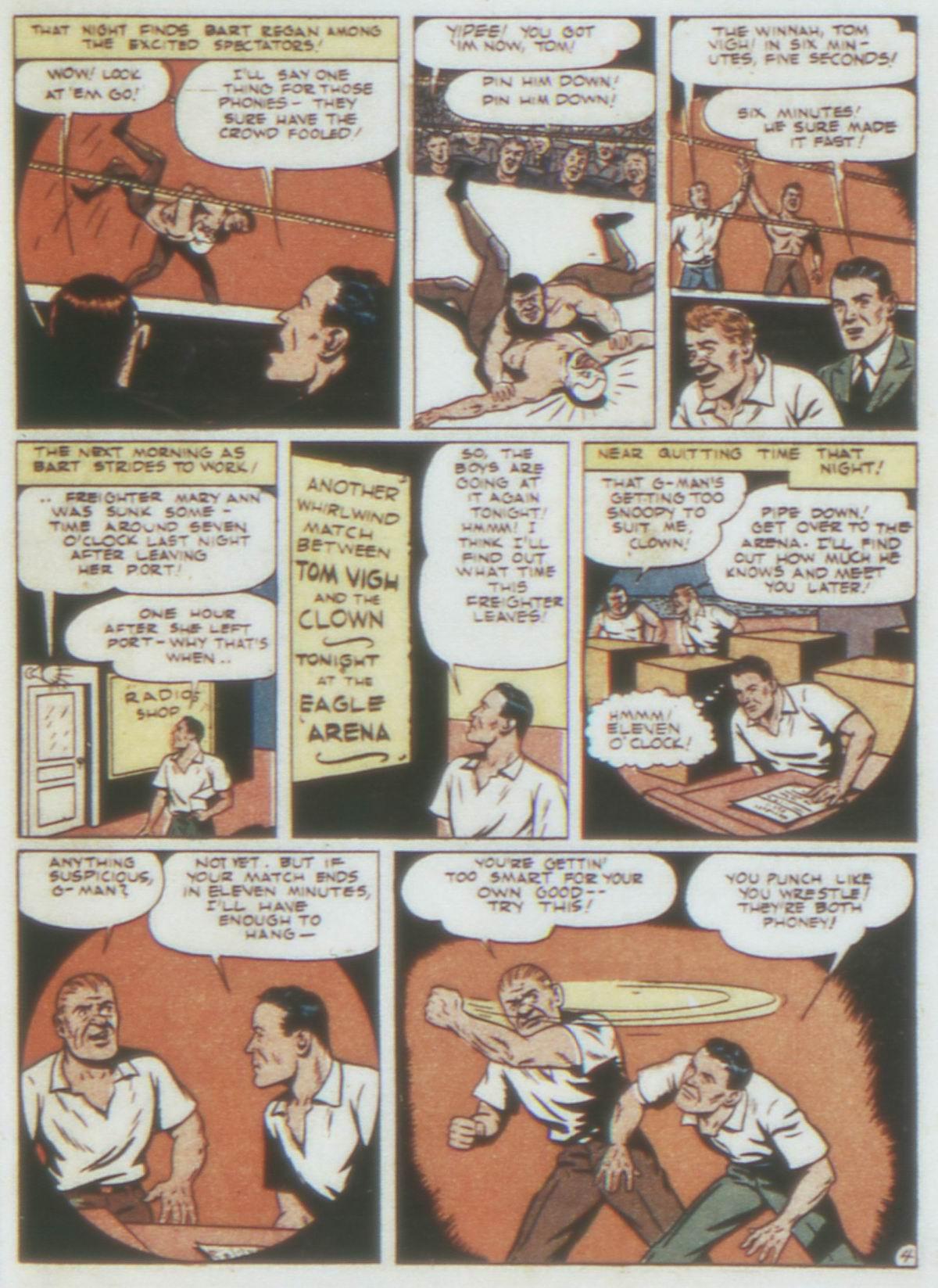Read online Detective Comics (1937) comic -  Issue #74 - 45