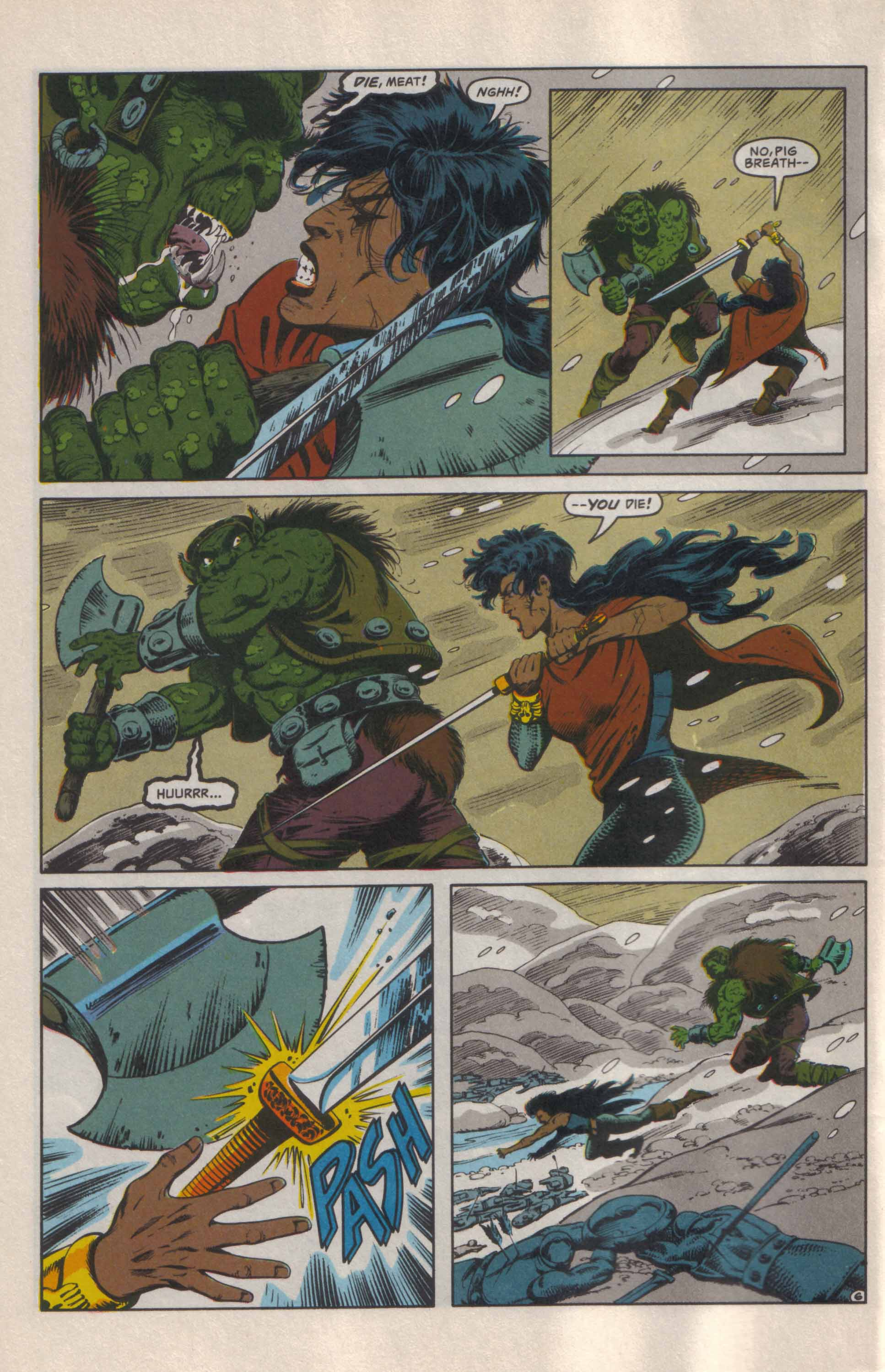 Read online Advanced Dungeons & Dragons comic -  Issue #24 - 7