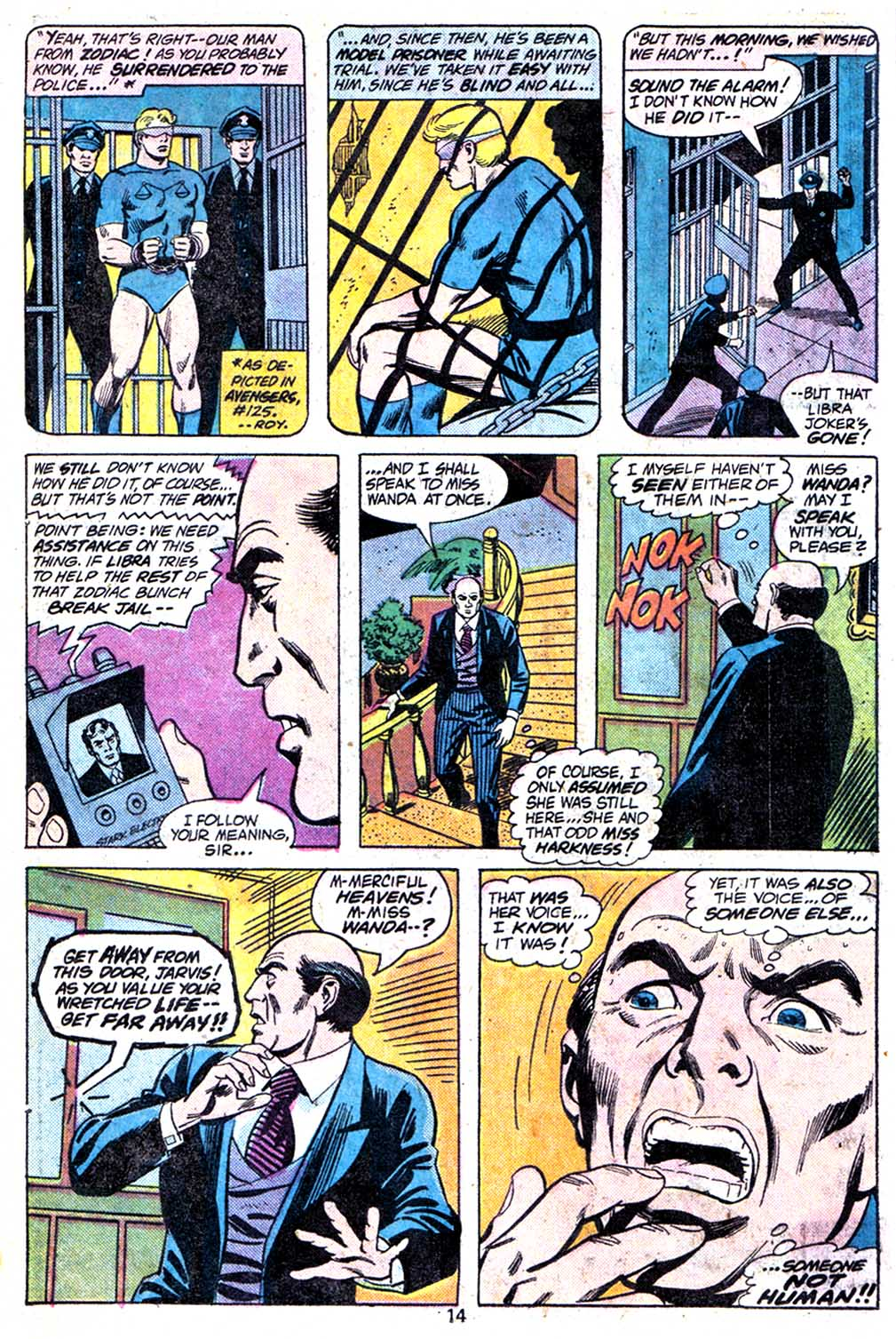 Giant-Size Avengers (1974) issue 3 - Page 16