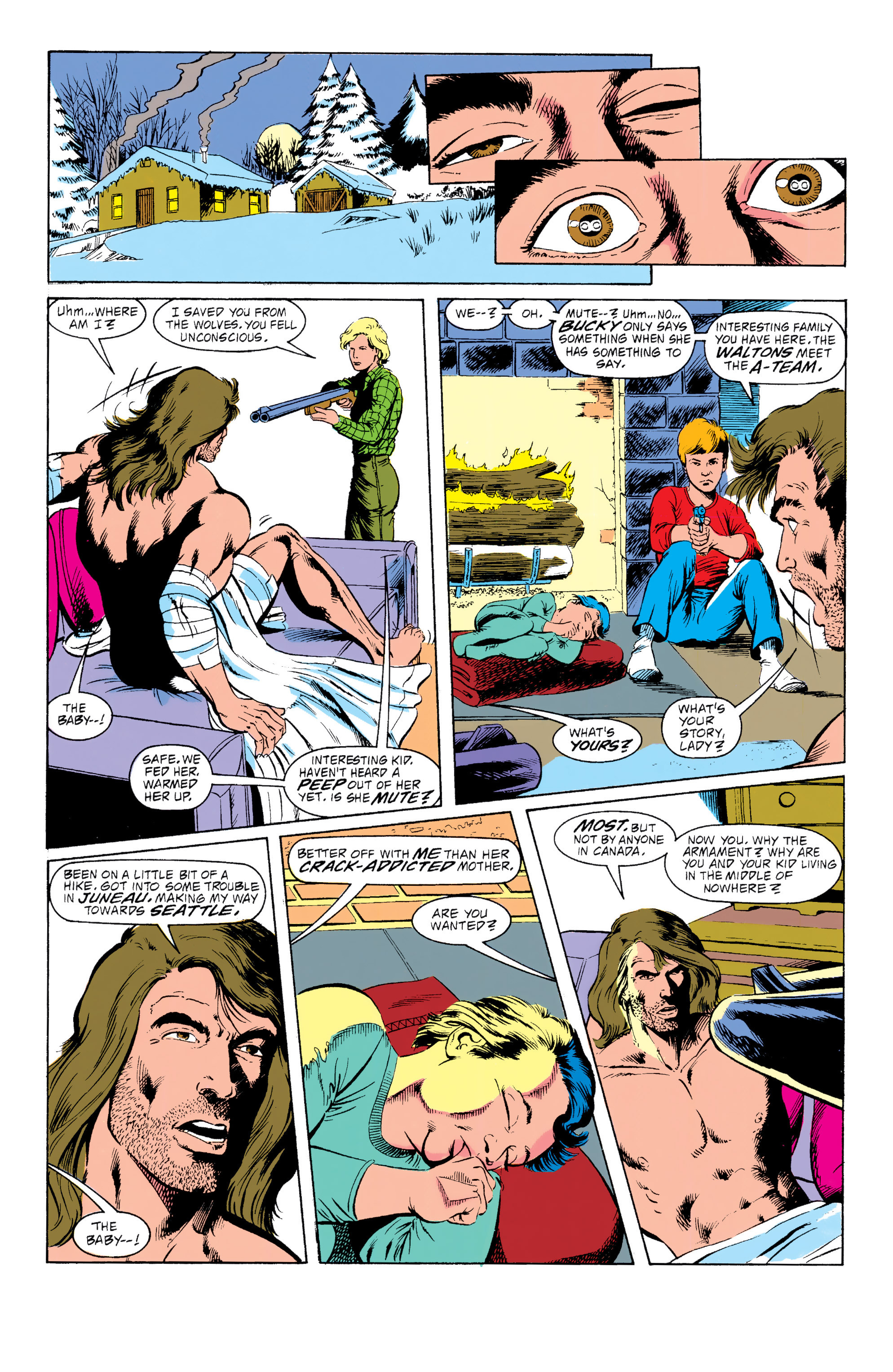 Read online Captain America (1968) comic -  Issue # _Annual 10 - 51