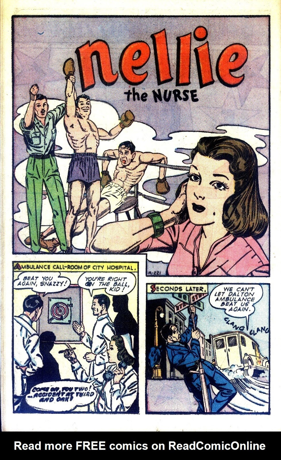 Read online Nellie The Nurse (1945) comic -  Issue #2 - 18