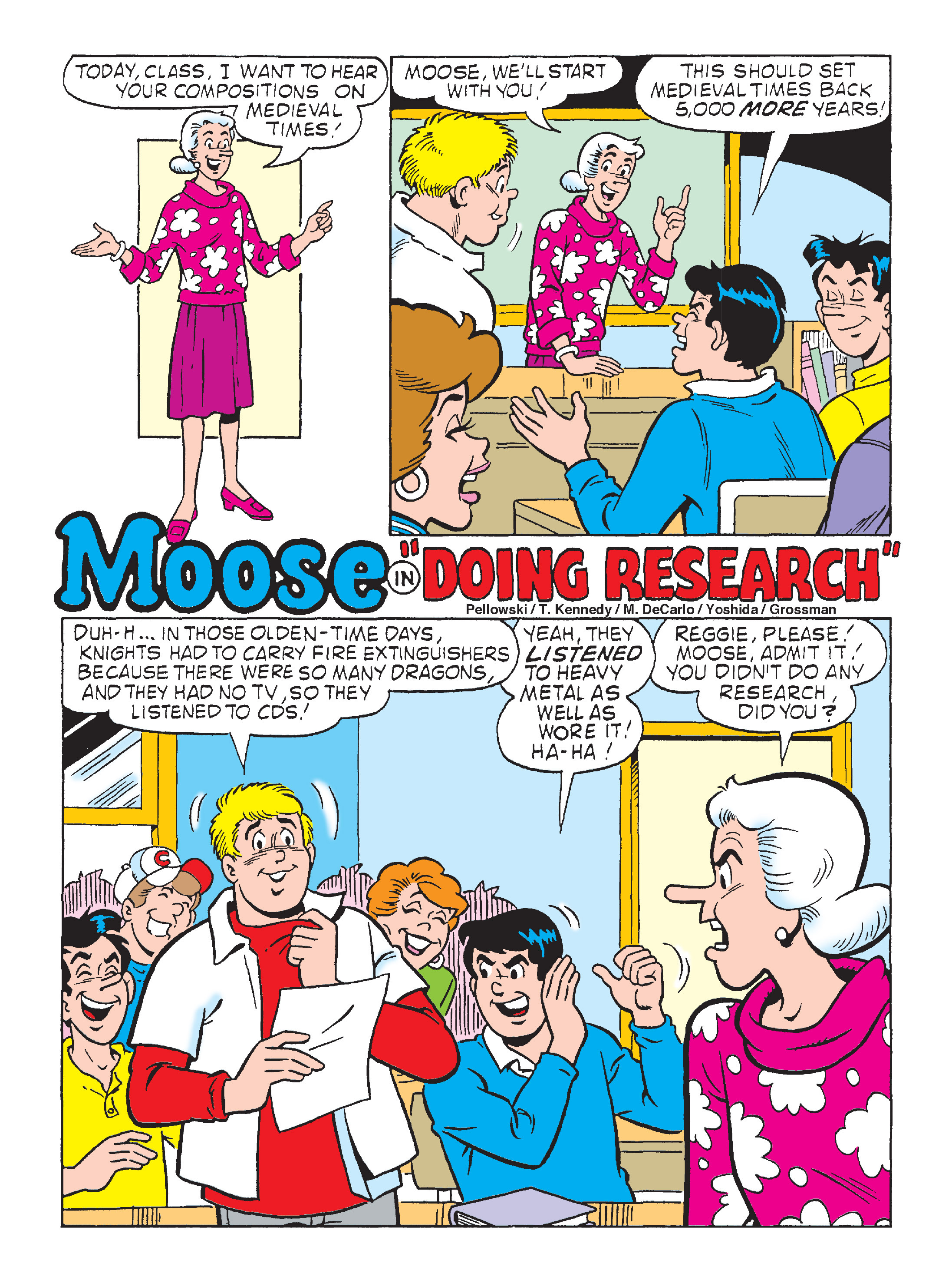 Read online Archie's Funhouse Double Digest comic -  Issue #1 - 14