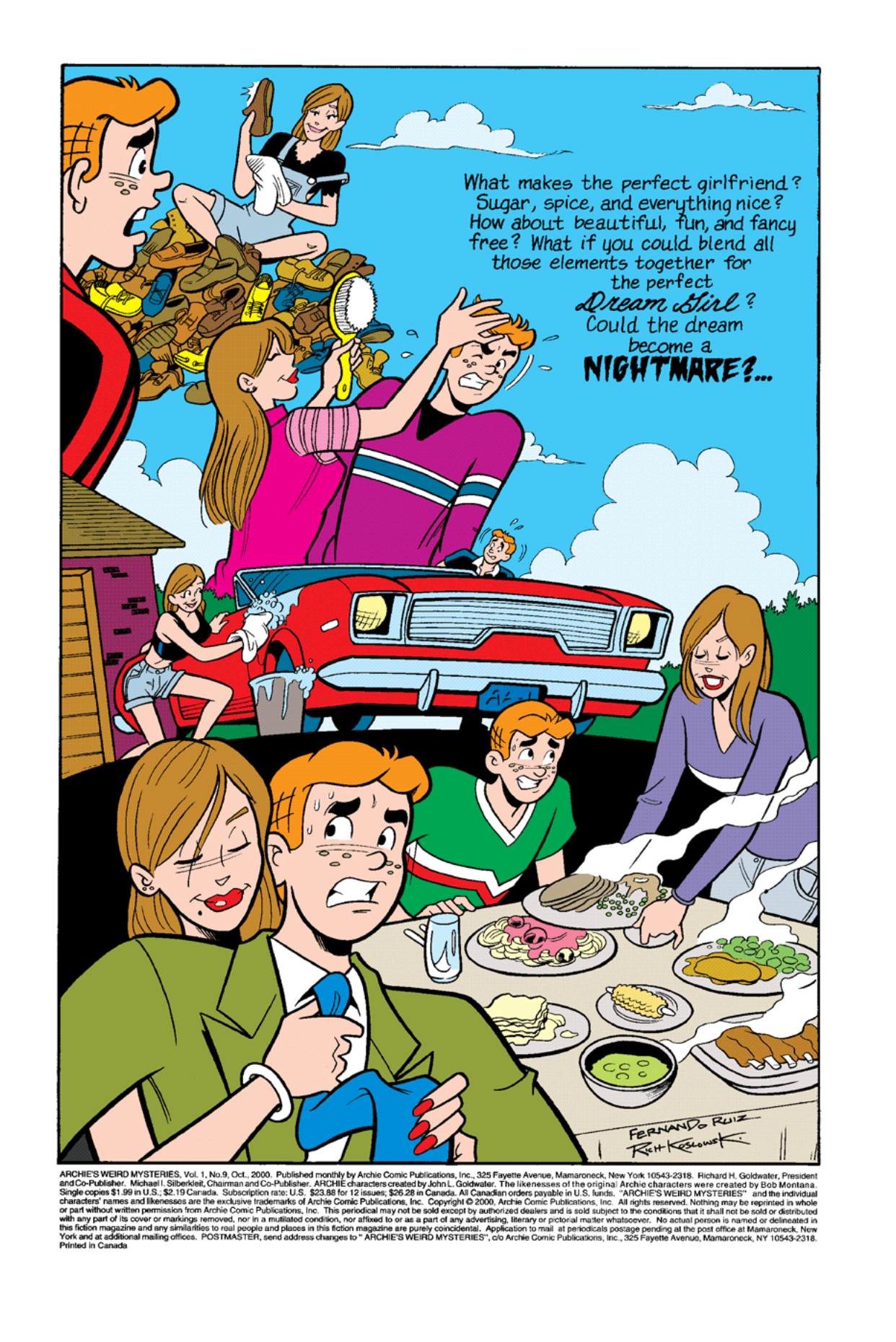 Read online Archie's Weird Mysteries comic -  Issue #9 - 2