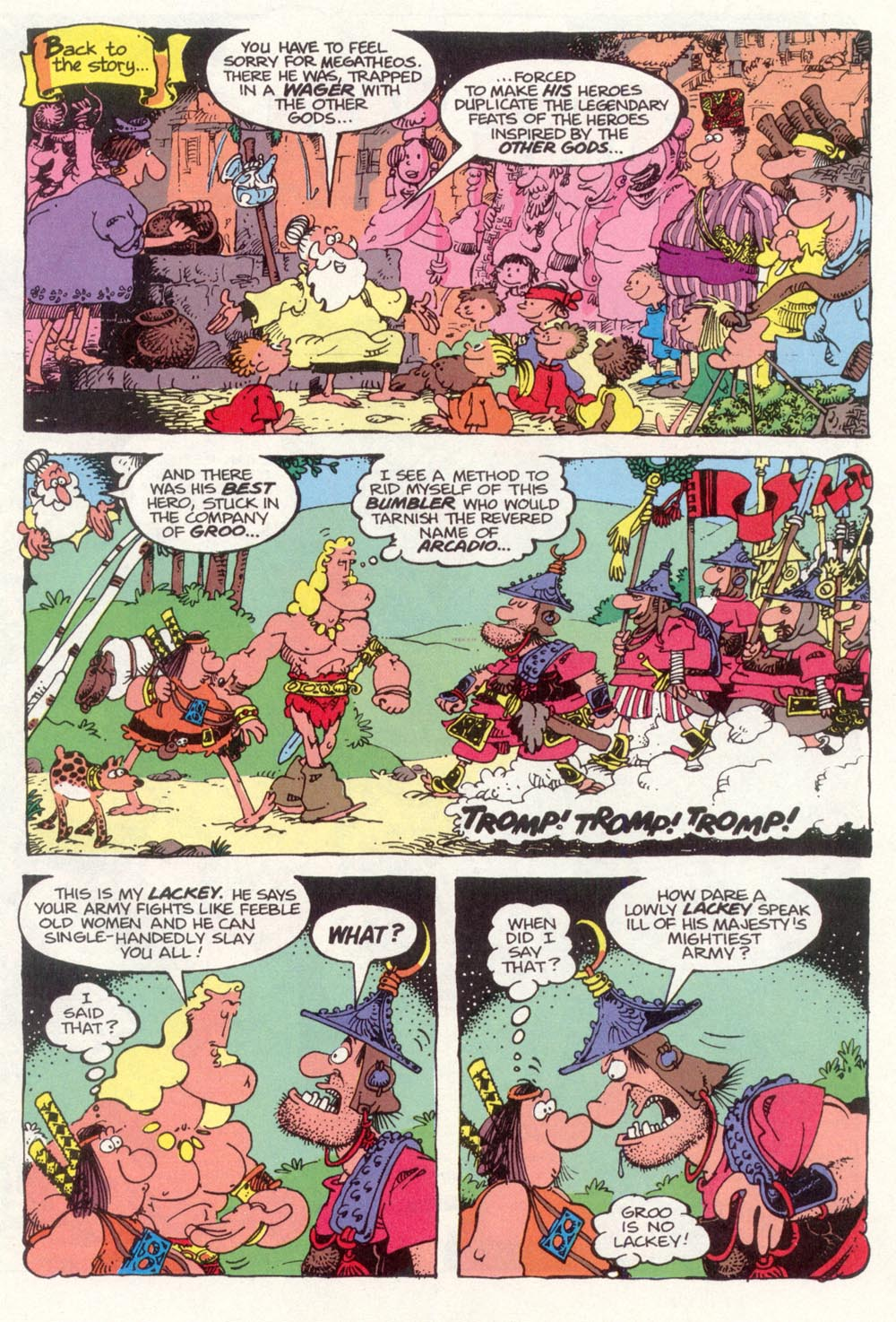 Read online Sergio Aragonés Groo the Wanderer comic -  Issue #98 - 3