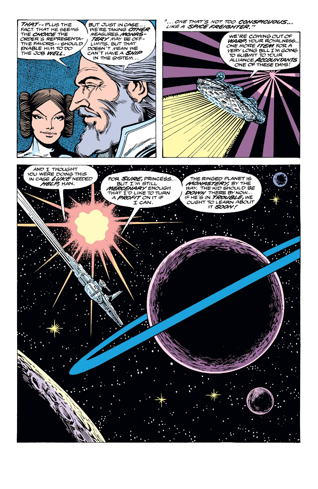 Read online Star Wars Legends: The Original Marvel Years - Epic Collection comic -  Issue # TPB 2 (Part 3) - 51