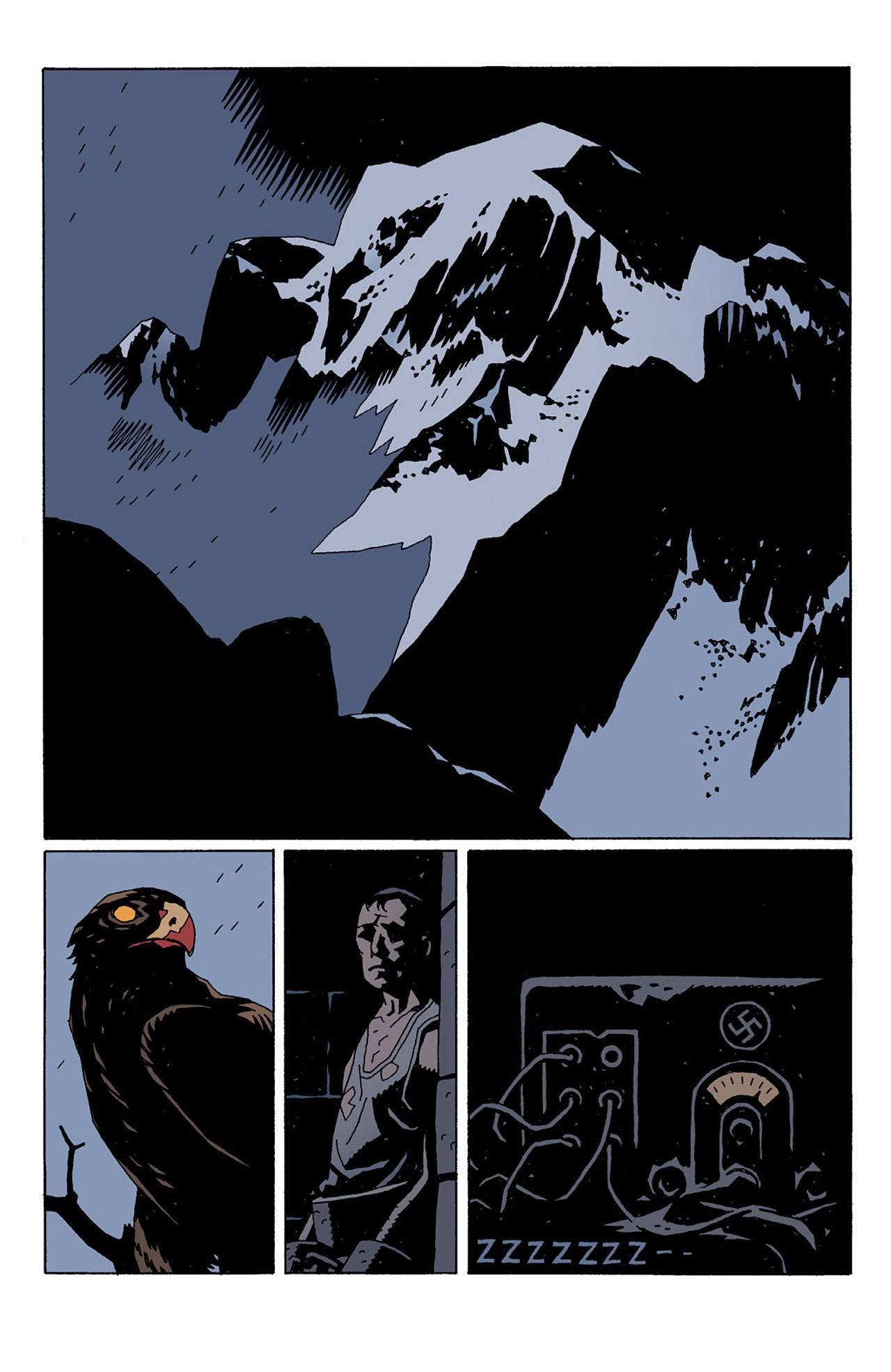 Read online Hellboy: Conqueror Worm comic -  Issue #1 - 32