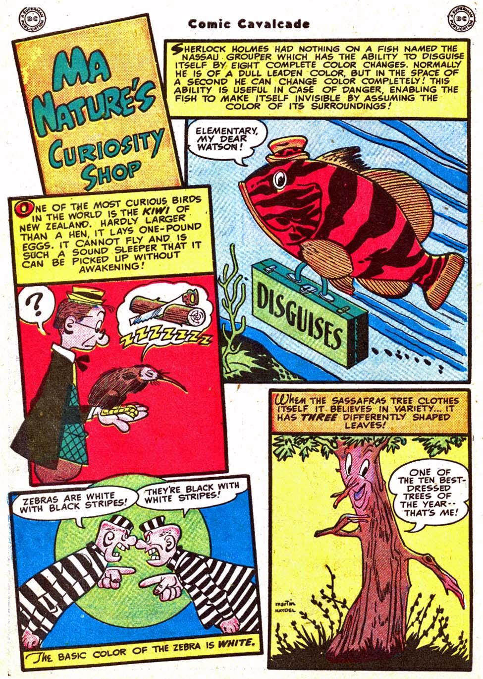 Comic Cavalcade issue 31 - Page 56