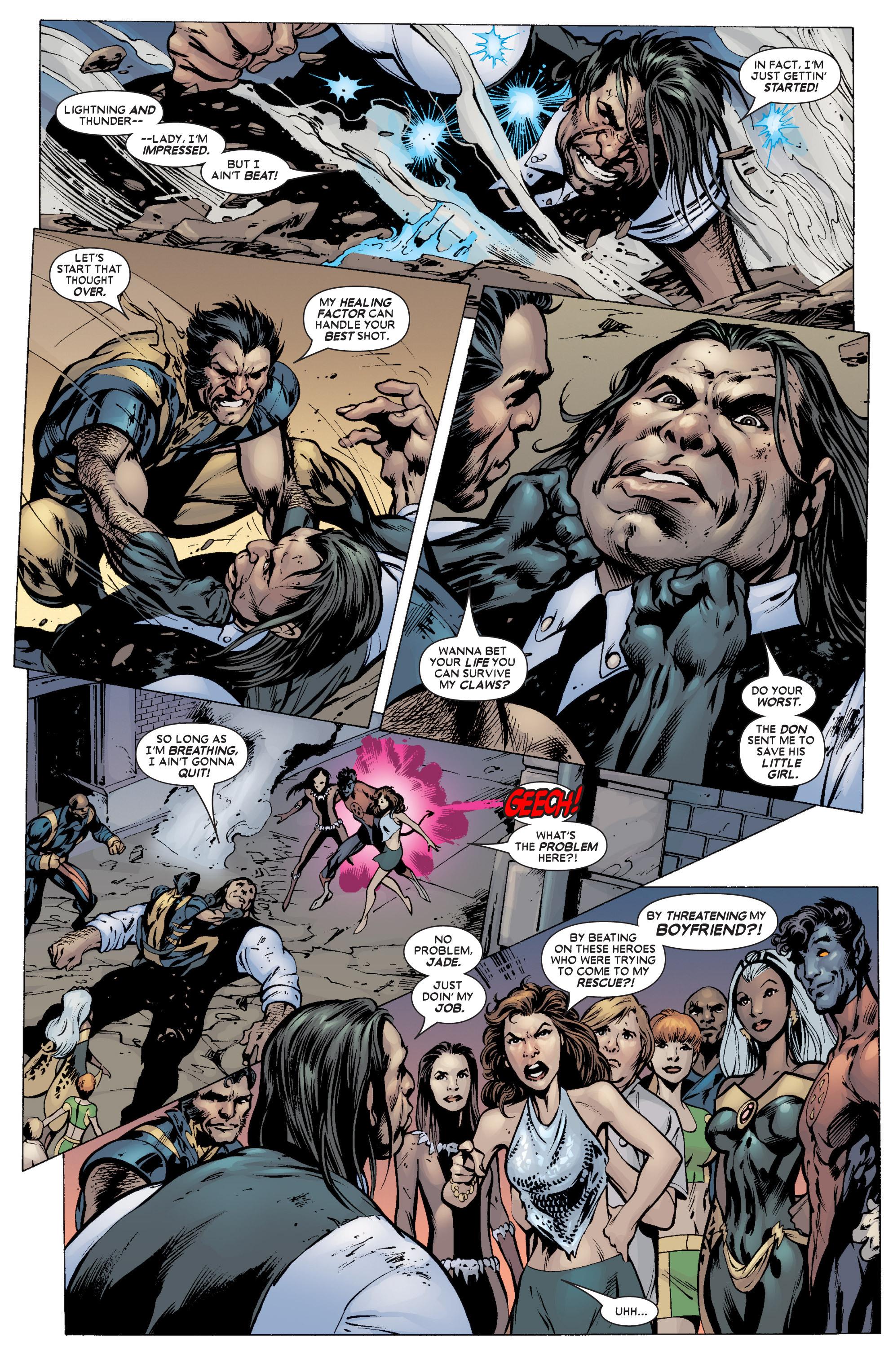 Read online Uncanny X-Men (1963) comic -  Issue #451 - 22