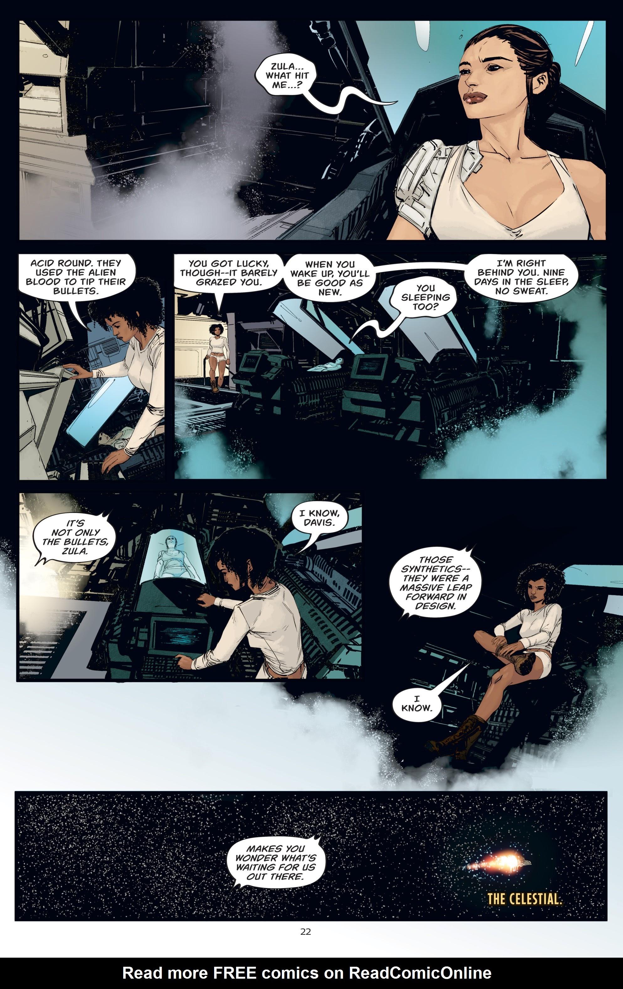 Read online Aliens: Resistance comic -  Issue # _TPB - 22
