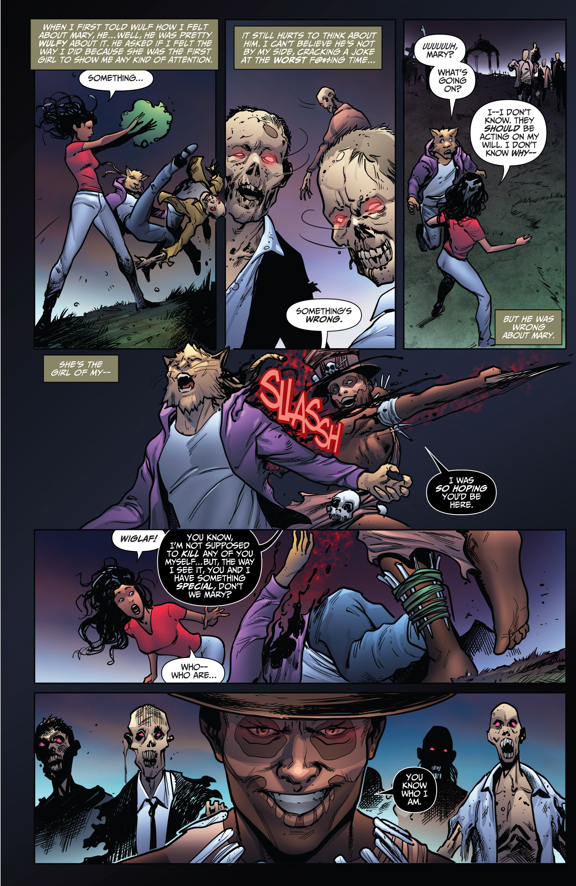 Read online Grimm Fairy Tales: Arcane Acre comic -  Issue # TPB 4 - 161