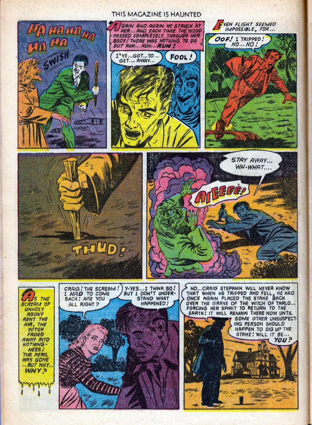 Read online This Magazine Is Haunted comic -  Issue #9 - 12