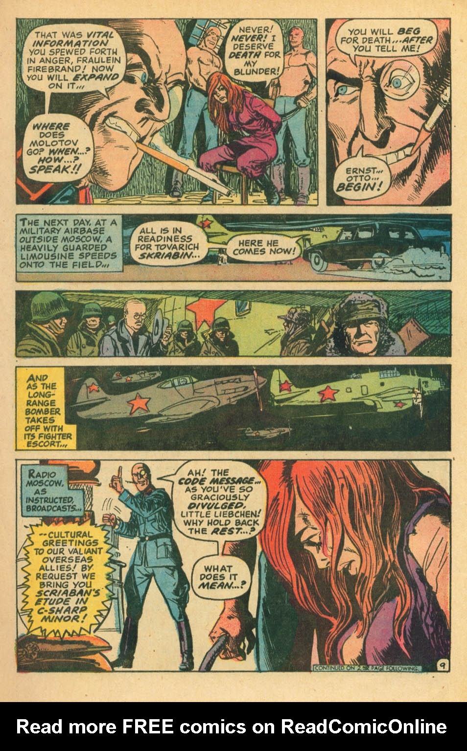 Read online Star Spangled War Stories (1952) comic -  Issue #172 - 9