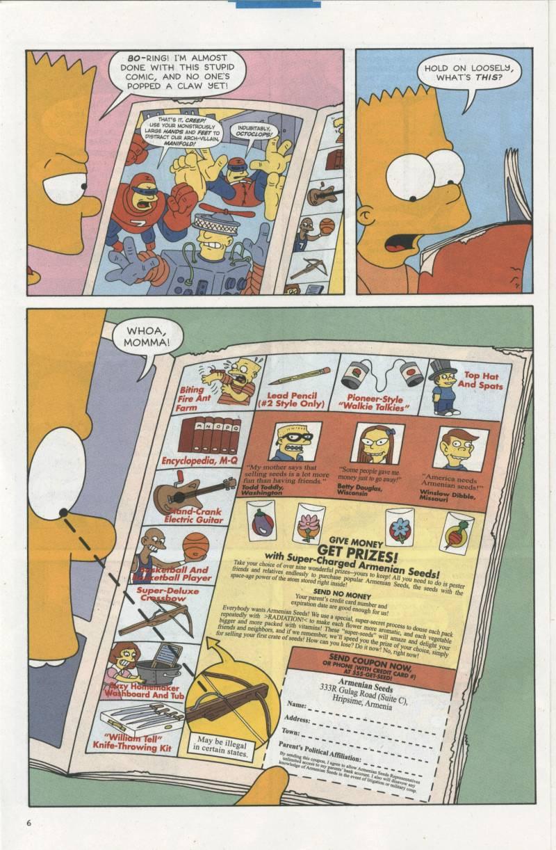 Read online Simpsons Comics comic -  Issue #67 - 7