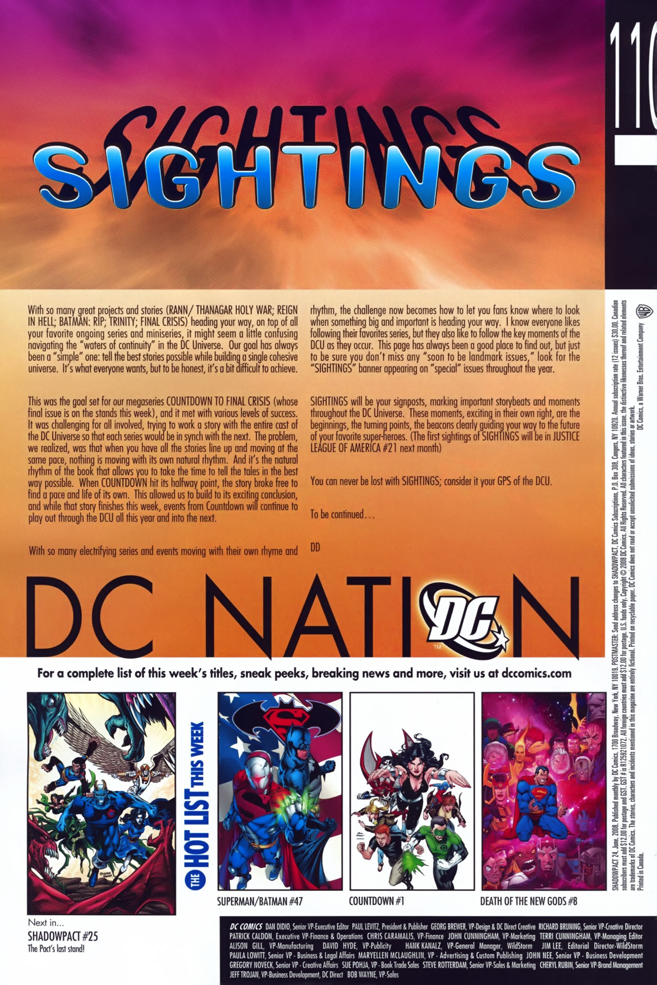 Read online Shadowpact comic -  Issue #24 - 22
