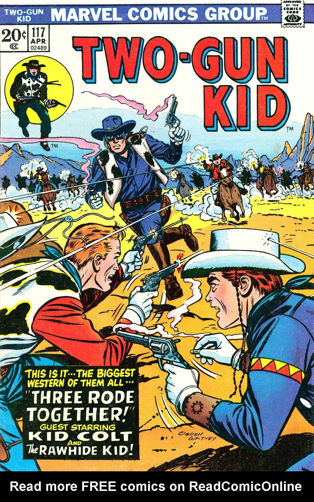 Read online Two-Gun Kid comic -  Issue #117 - 1