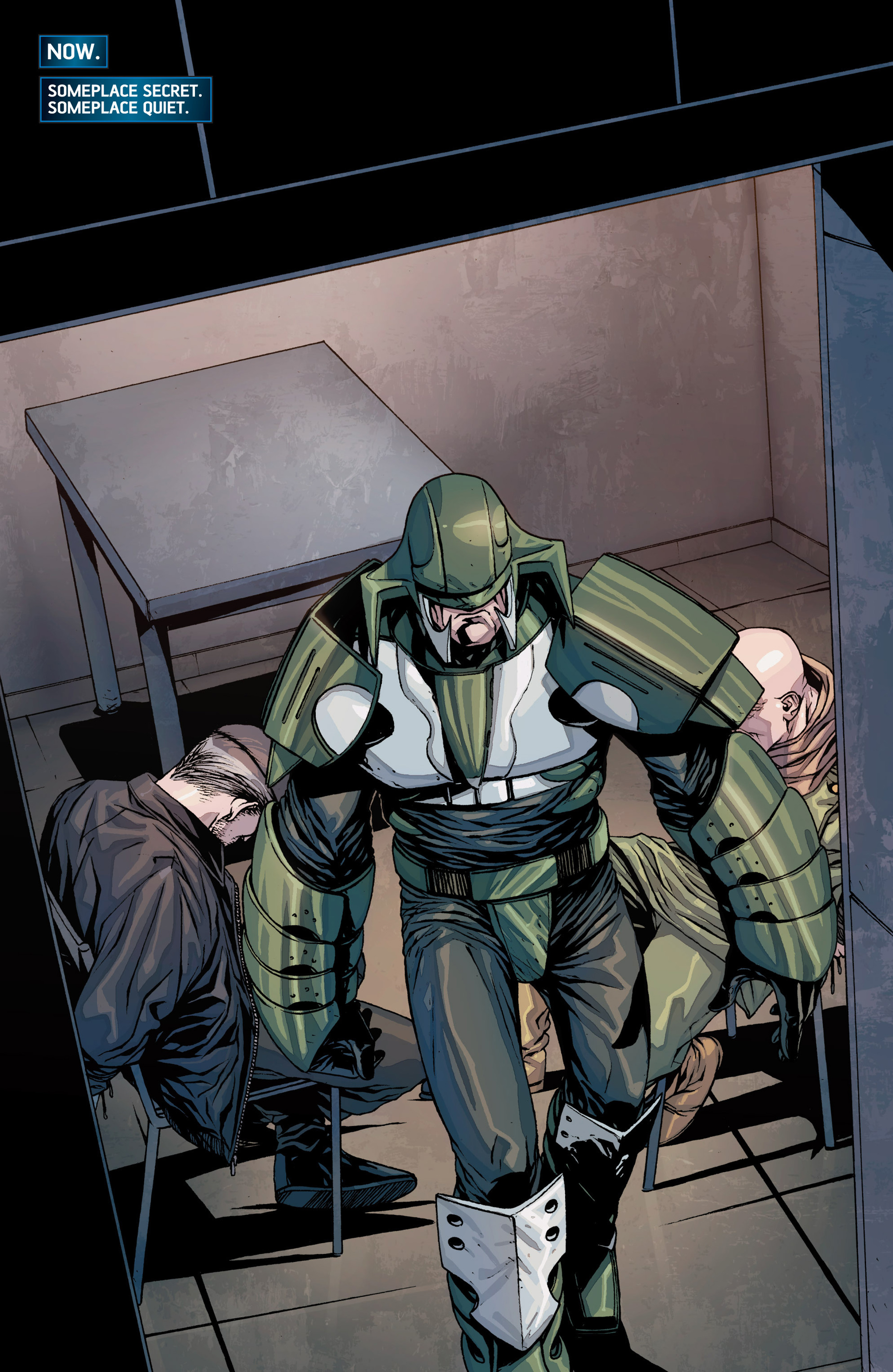 Read online Secret Warriors comic -  Issue #26 - 4