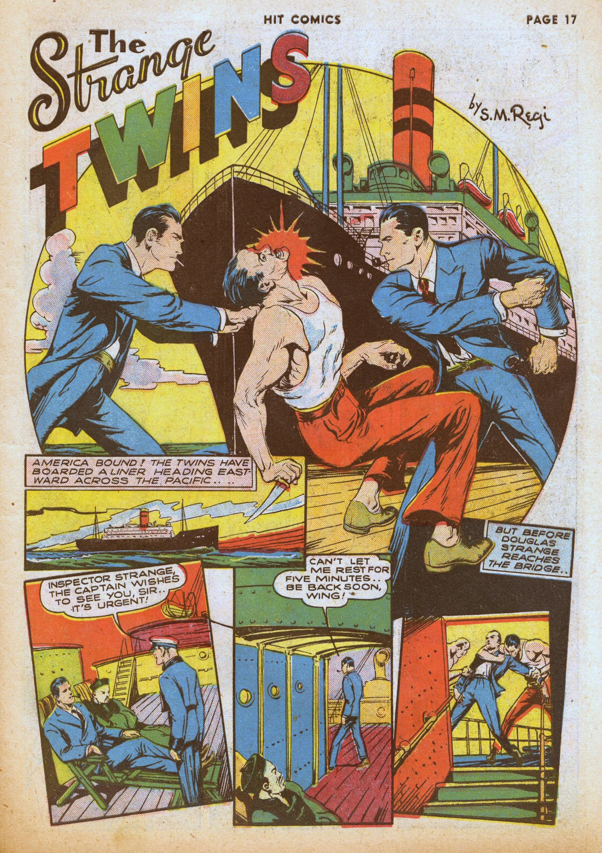 Read online Hit Comics comic -  Issue #12 - 19