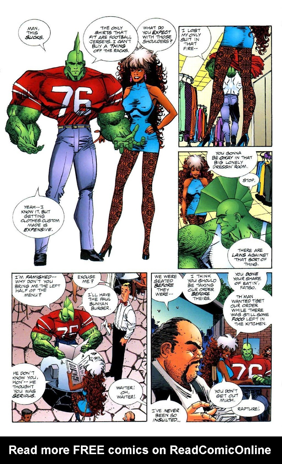 The Savage Dragon (1993) Issue #27 #30 - English 7