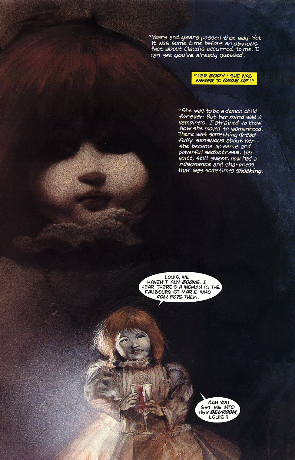 Read online Anne Rice's Interview with the Vampire comic -  Issue #4 - 11