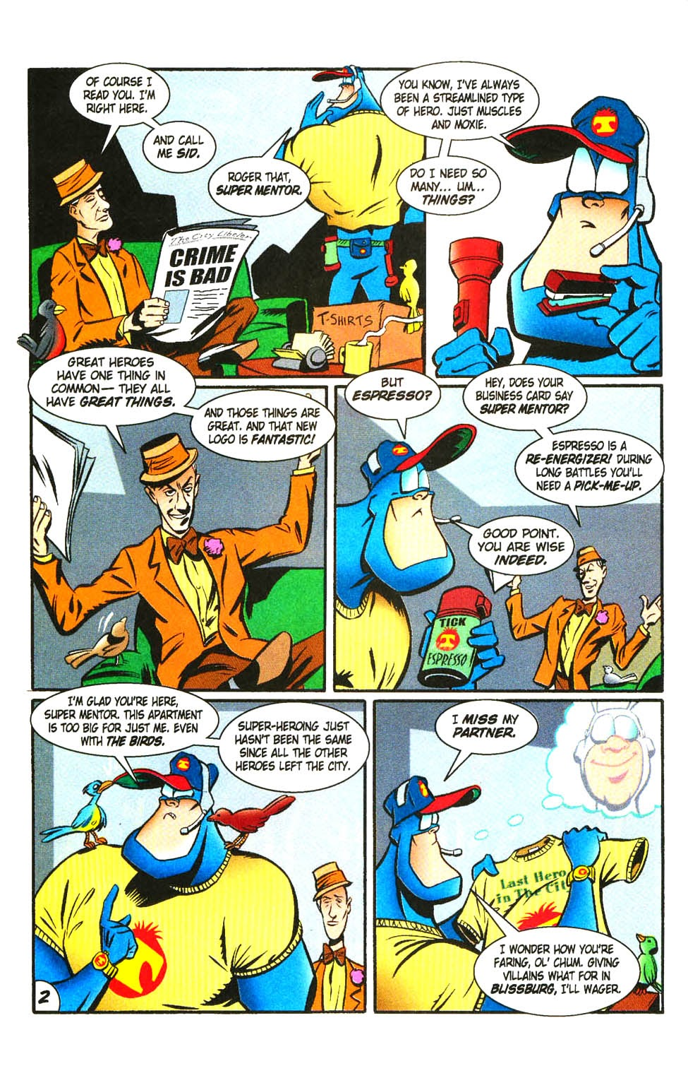 Read online The Tick: Days of Drama comic -  Issue #3 - 4
