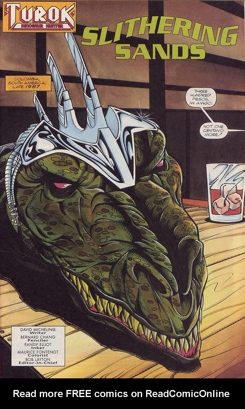 Read online Turok, Dinosaur Hunter (1993) comic -  Issue #3 - 2