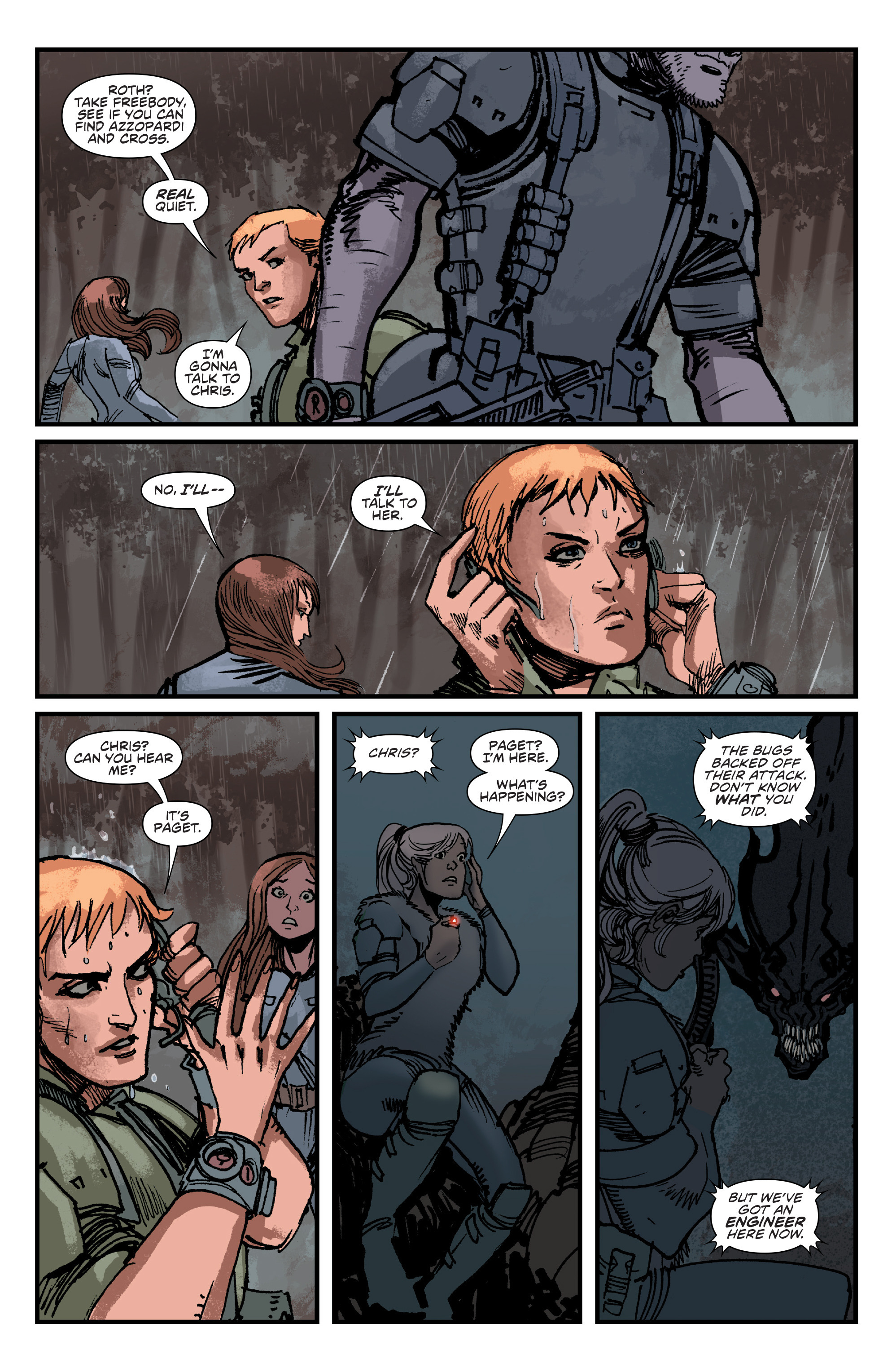Read online Aliens: Life And Death comic -  Issue #4 - 11