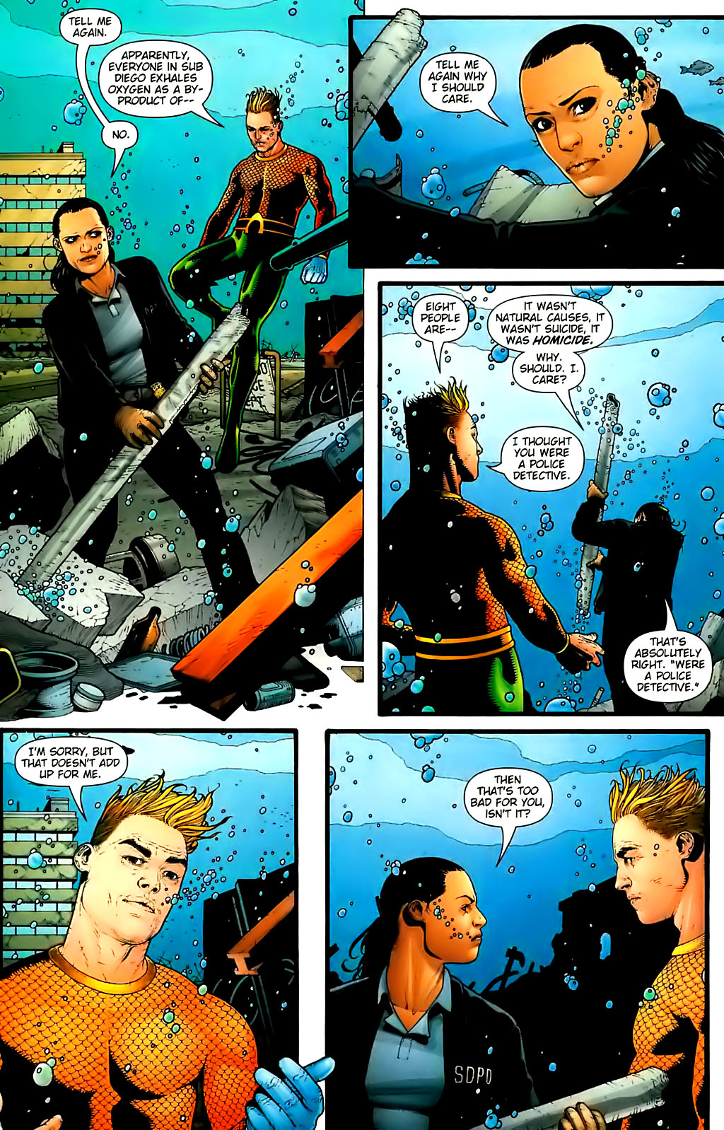 Read online Aquaman (2003) comic -  Issue #30 - 13