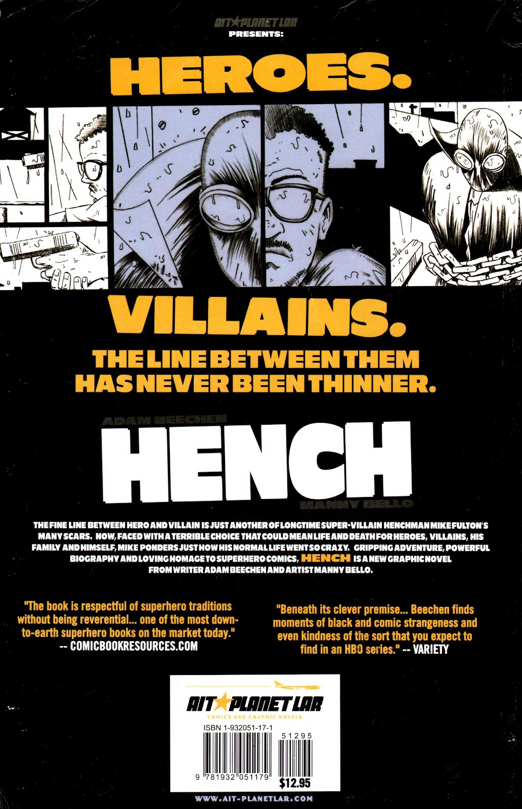 Read online Hench comic -  Issue # TPB - 83