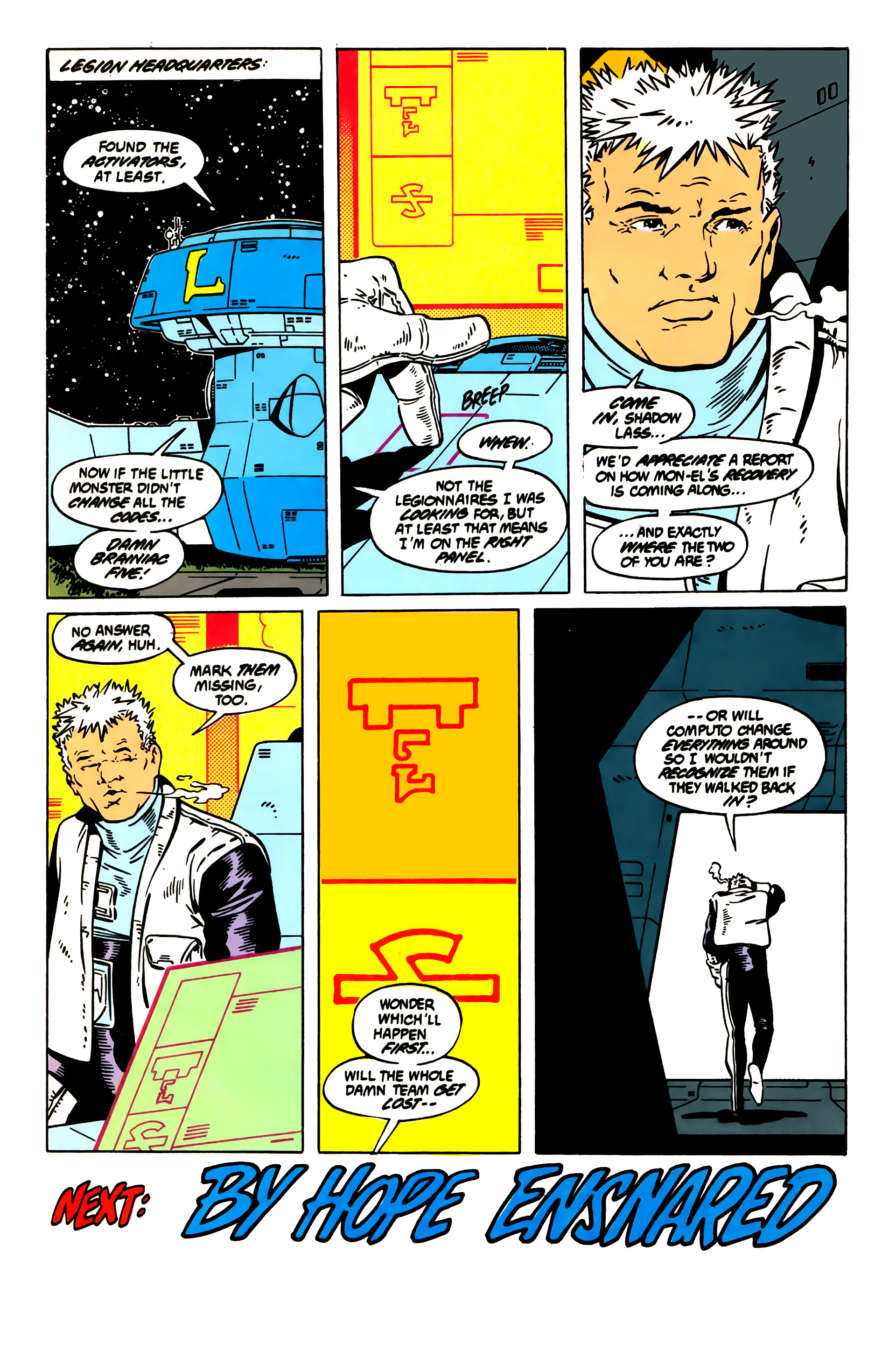 Legion of Super-Heroes (1984) 55 Page 27