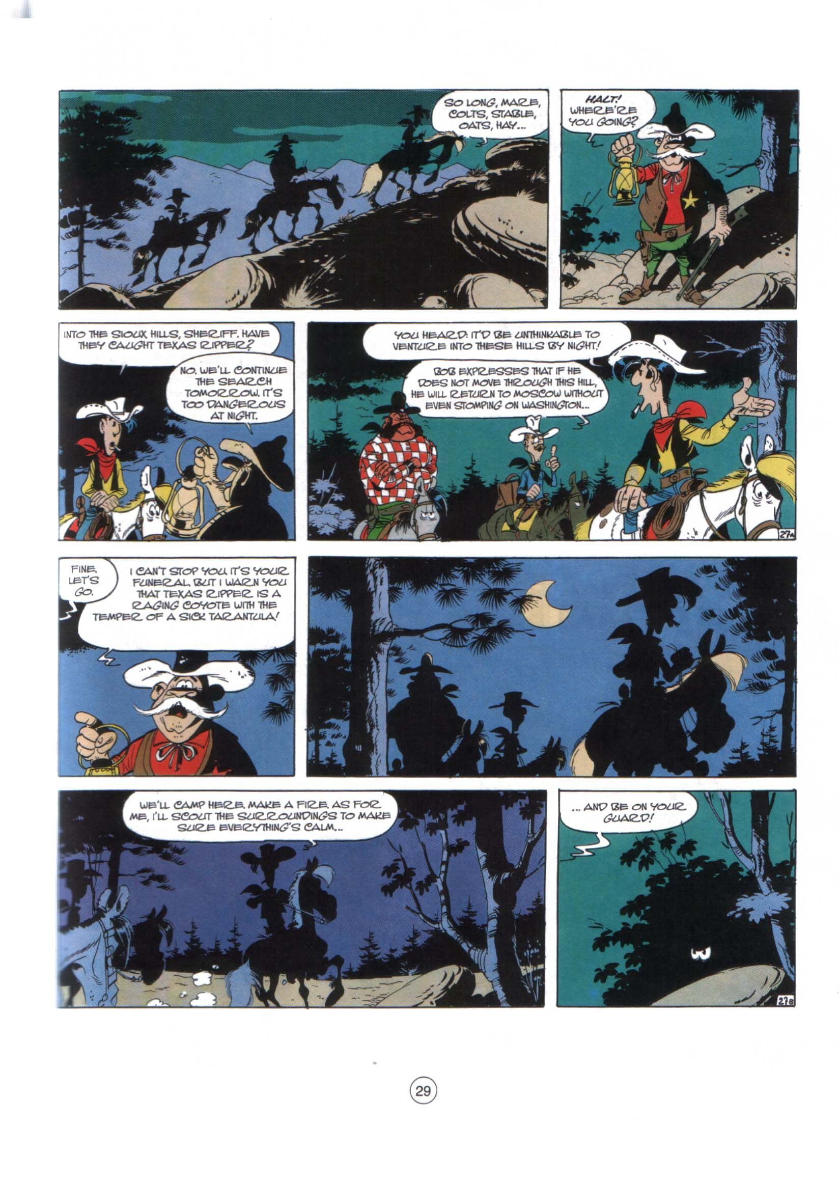 Read online A Lucky Luke Adventure comic -  Issue #29 - 28