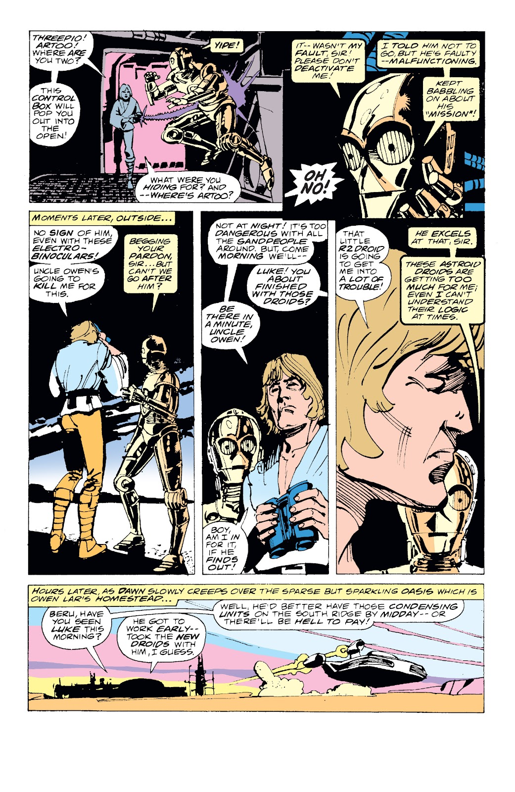 Read online Star Wars Legends: The Original Marvel Years - Epic Collection comic -  Issue # TPB 1 (Part 1) - 18