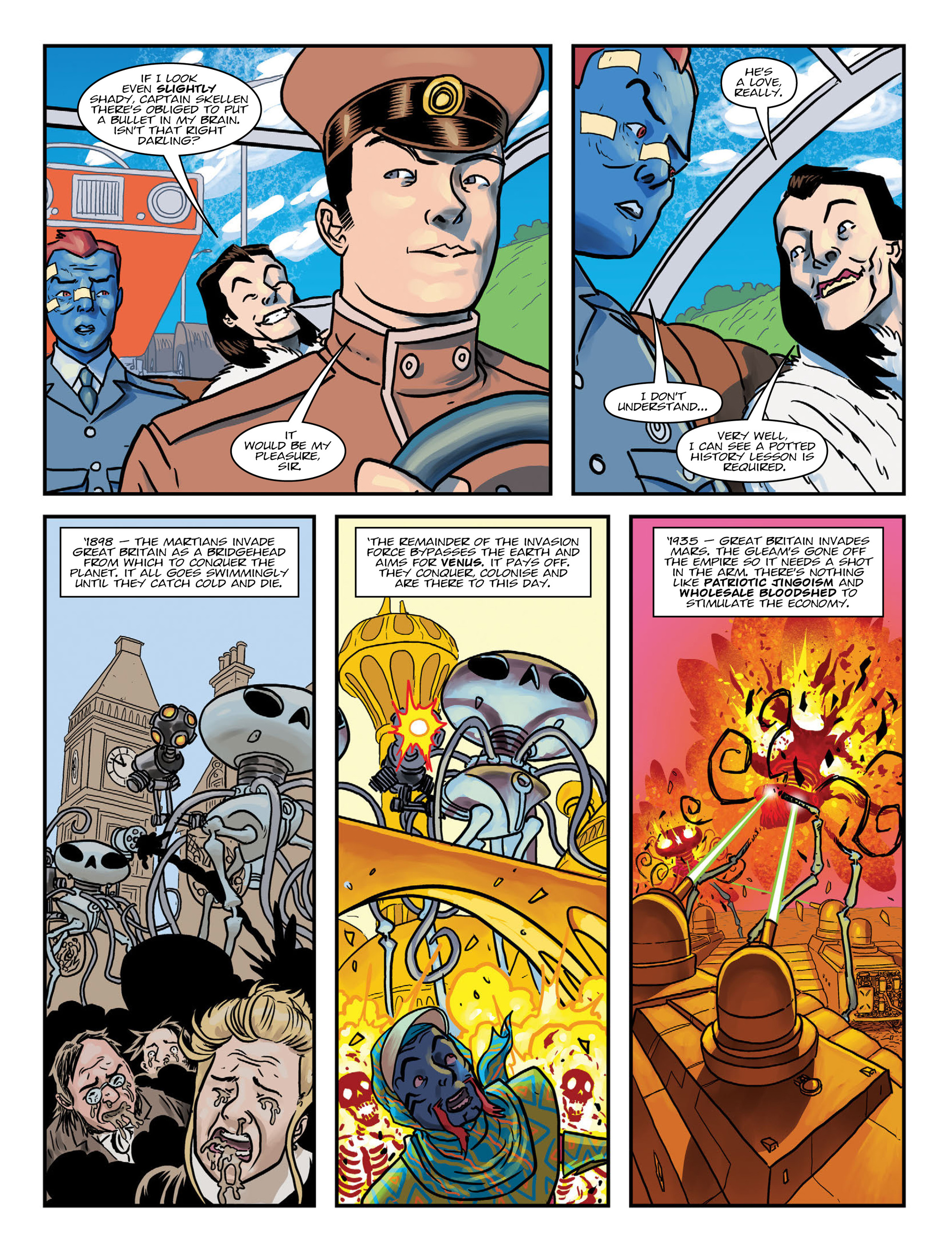 Read online 2000 AD comic -  Issue #1991 - 27