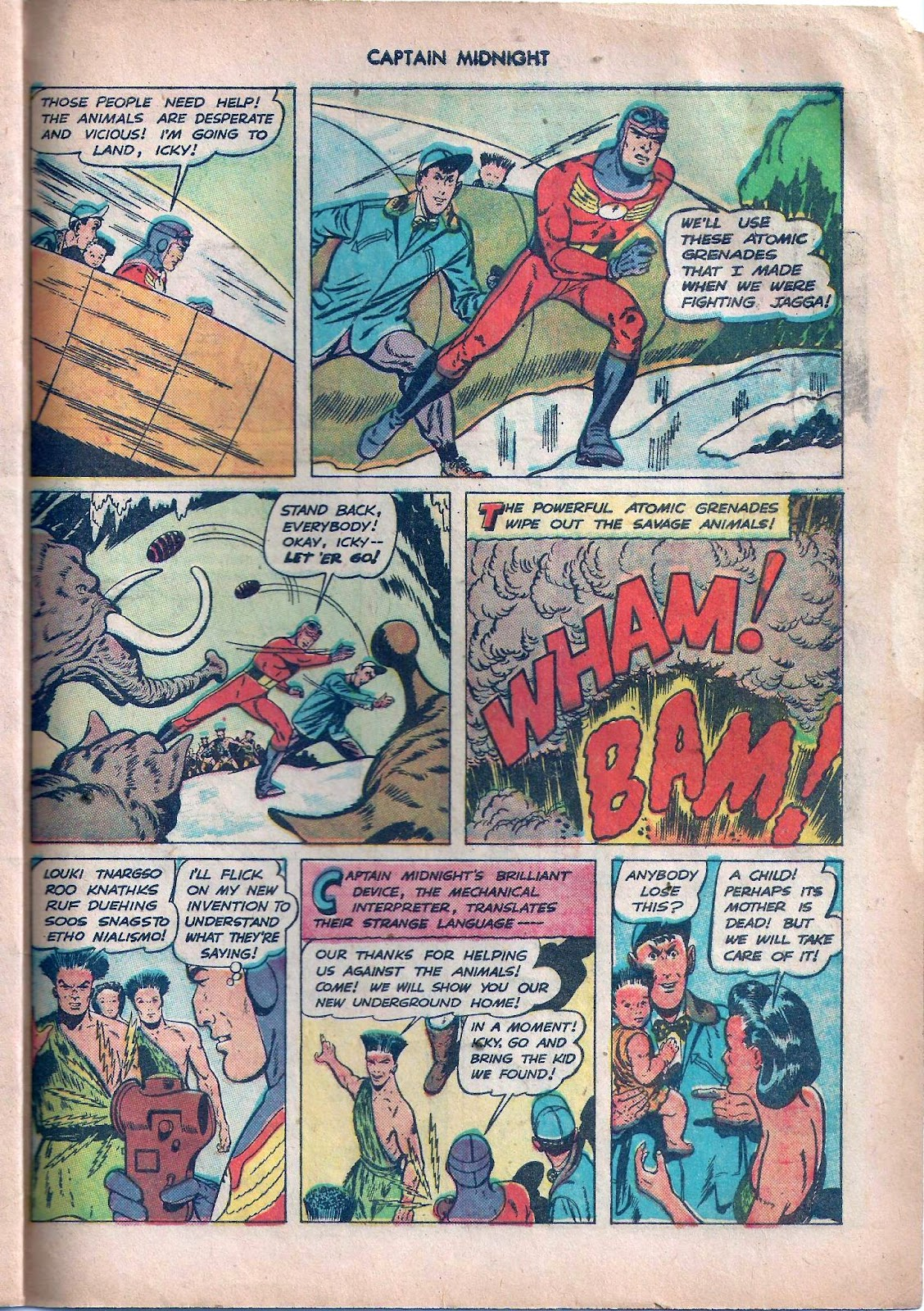 Captain Midnight (1942) issue 59 - Page 28