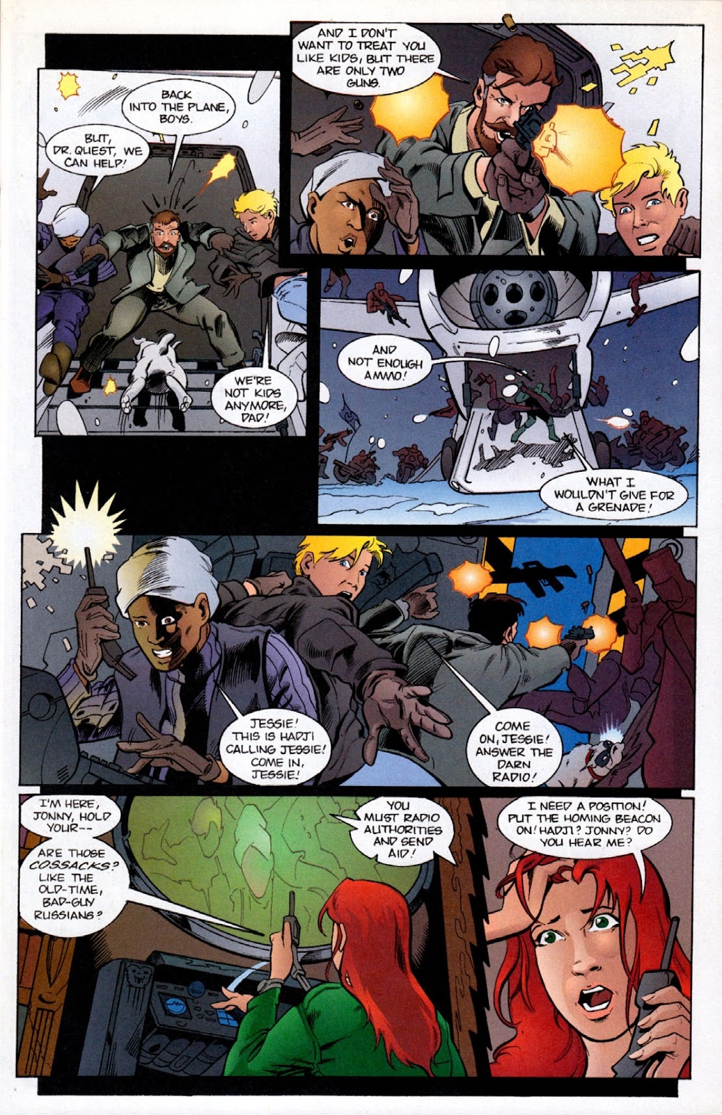Read online The Real Adventures of Jonny Quest comic -  Issue #6 - 7