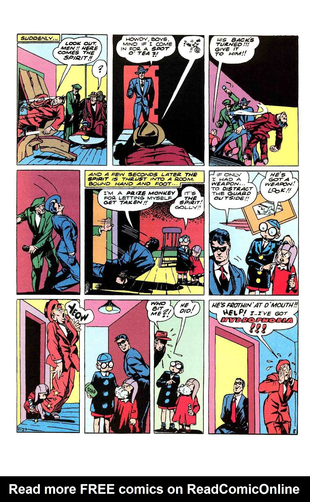 Read online Will Eisner's The Spirit Archives comic -  Issue # TPB 3 (Part 1) - 30