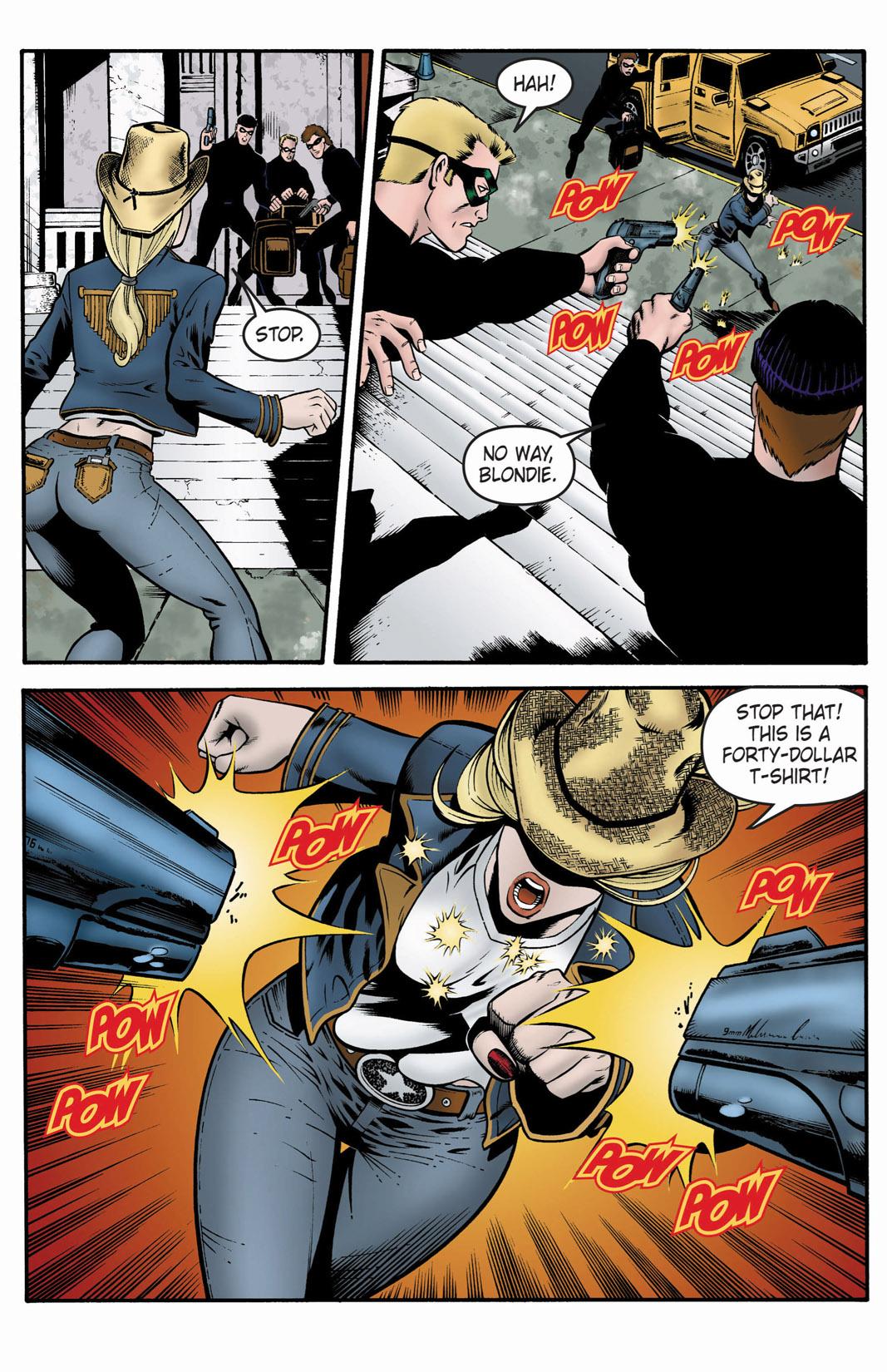 Read online SideChicks comic -  Issue #1 - 23
