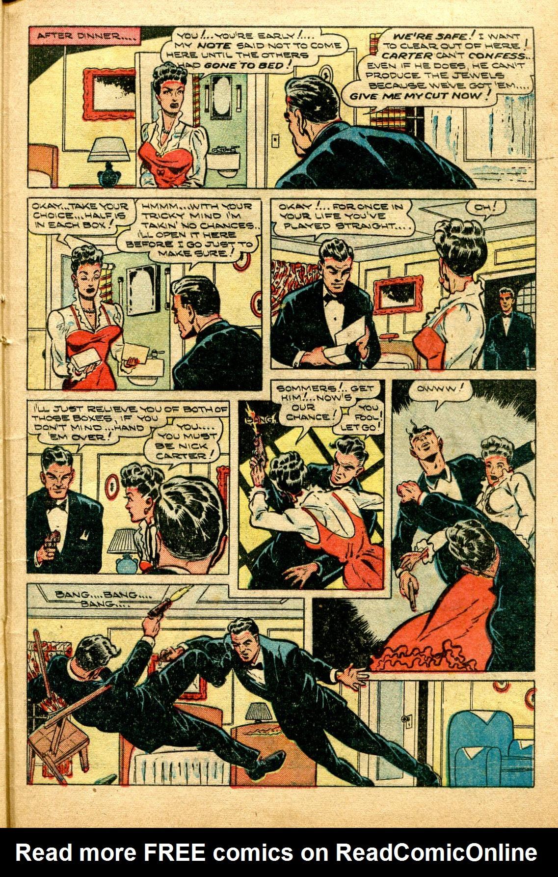 Read online Shadow Comics comic -  Issue #96 - 35