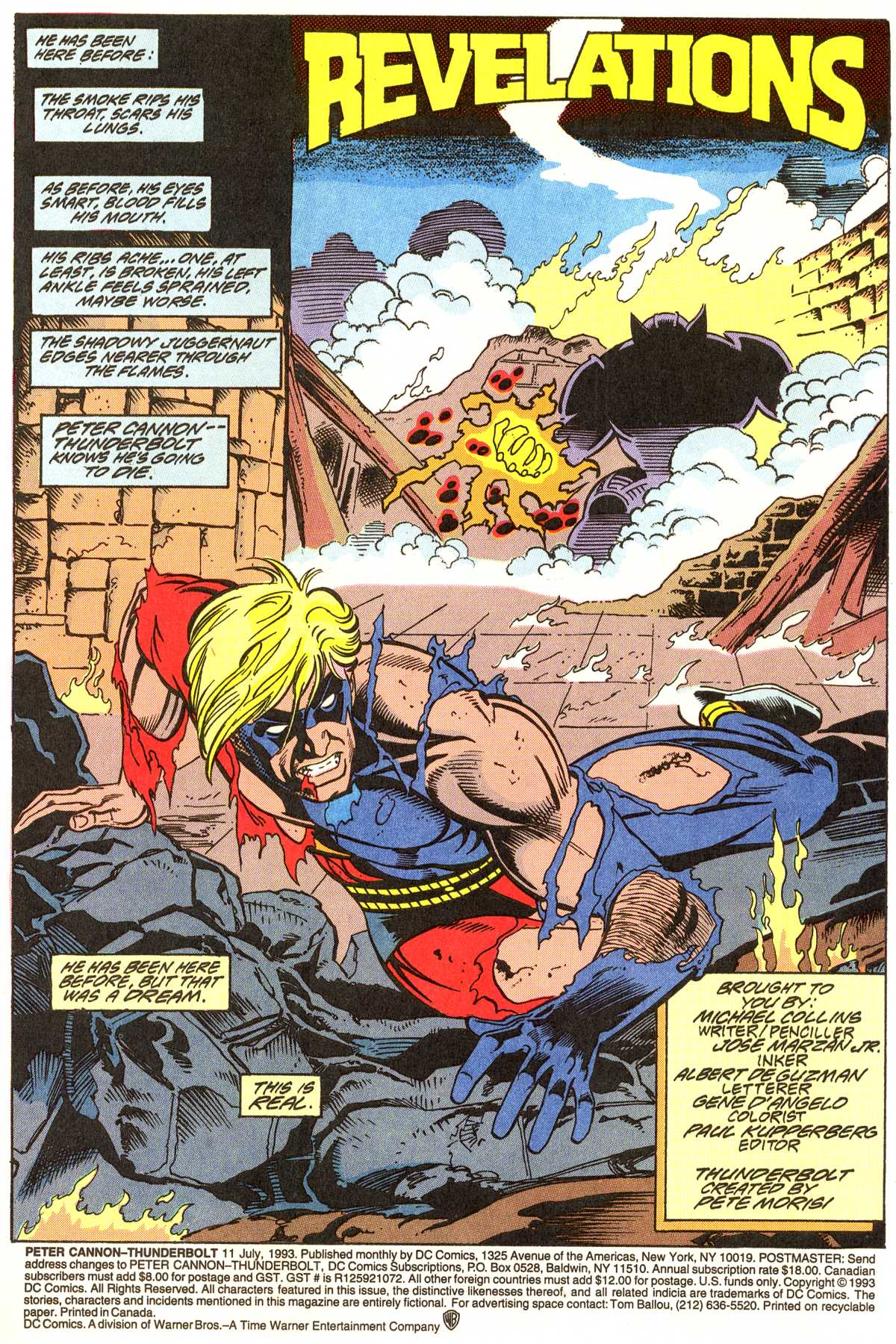 Read online Peter Cannon--Thunderbolt (1992) comic -  Issue #11 - 2