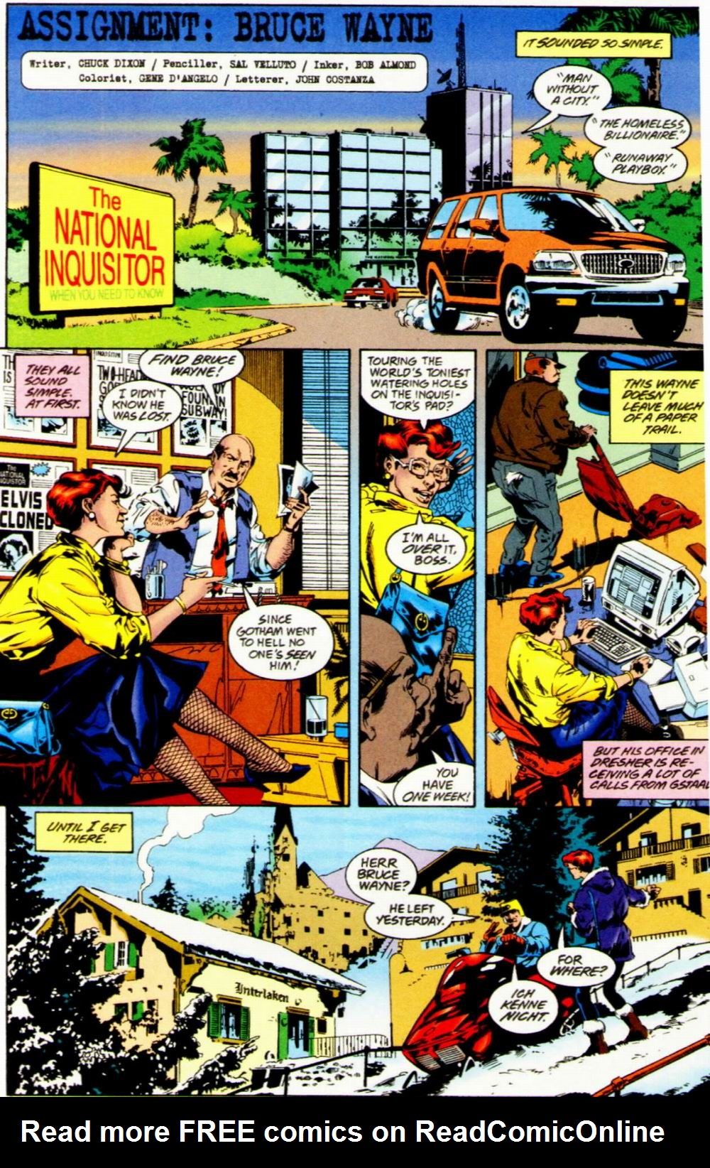 Read online Batman: No Man's Land Secret Files comic -  Issue # Full - 40