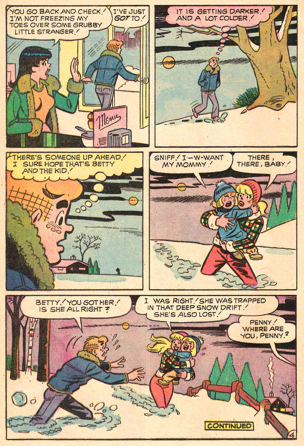 Read online Archie's Girls Betty and Veronica comic -  Issue #208 - 24